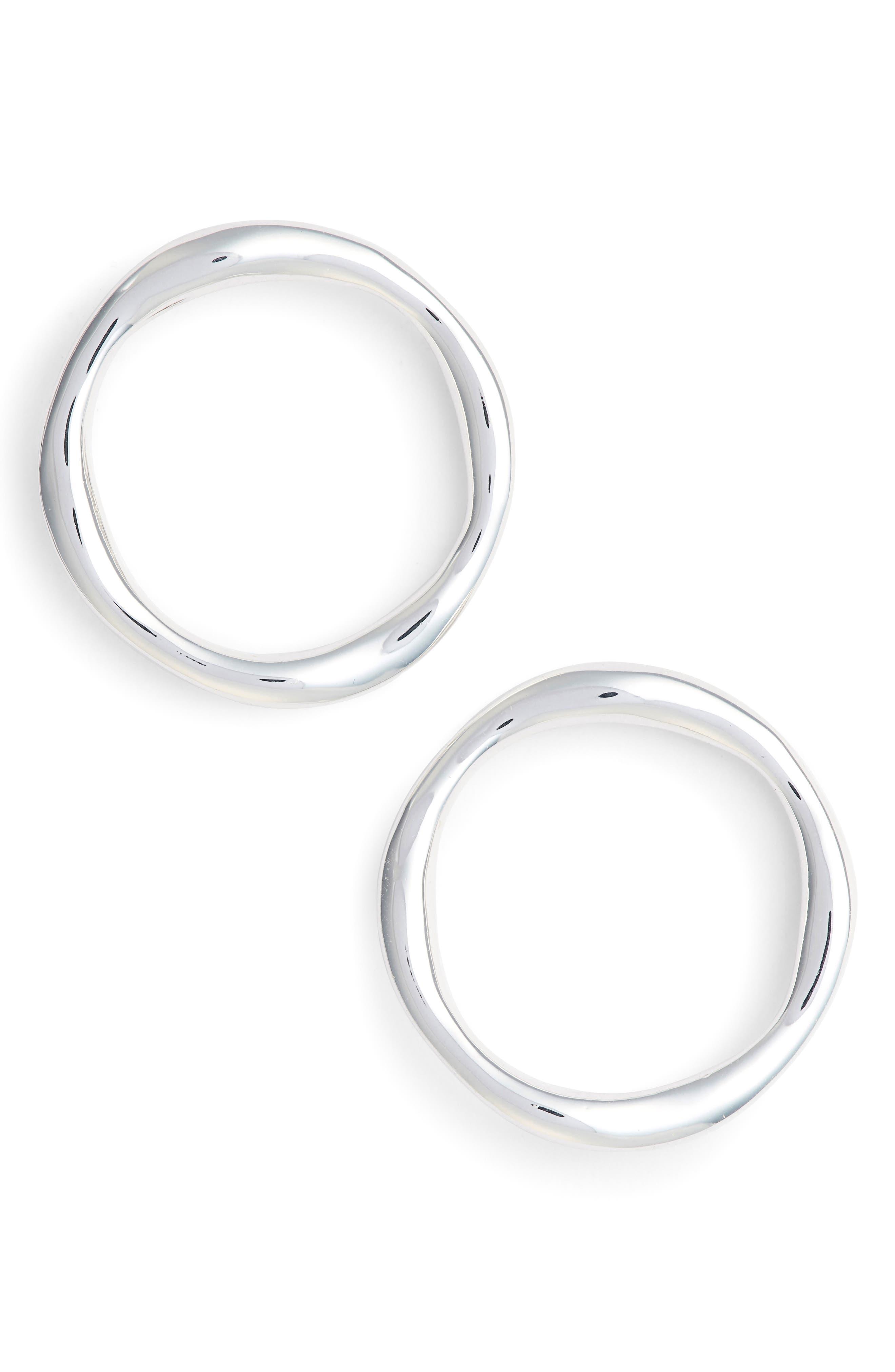 Quinn Frontal Hoop Earrings,                             Main thumbnail 1, color,