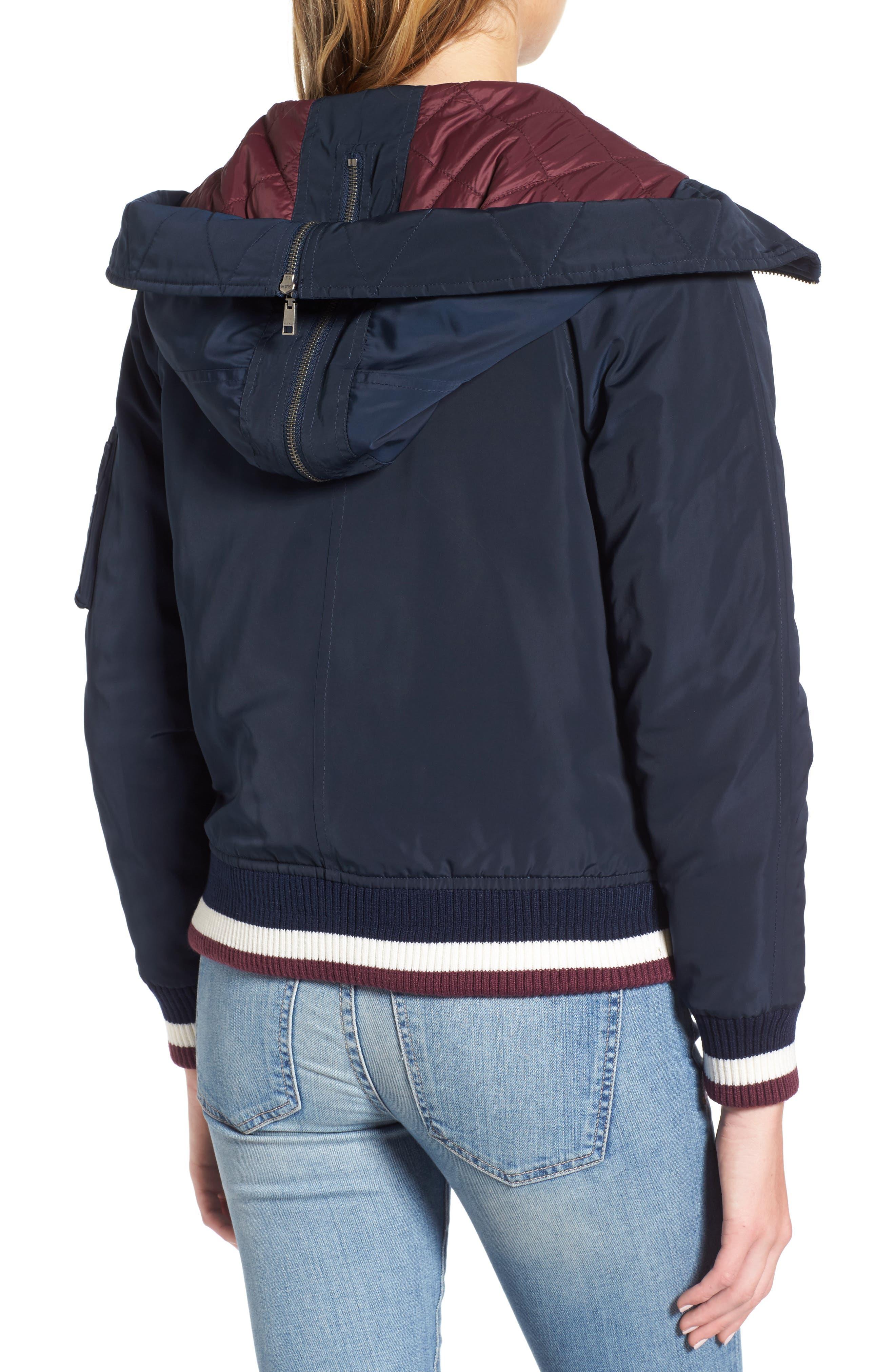 Hooded Windbreaker Jacket,                             Alternate thumbnail 2, color,                             410