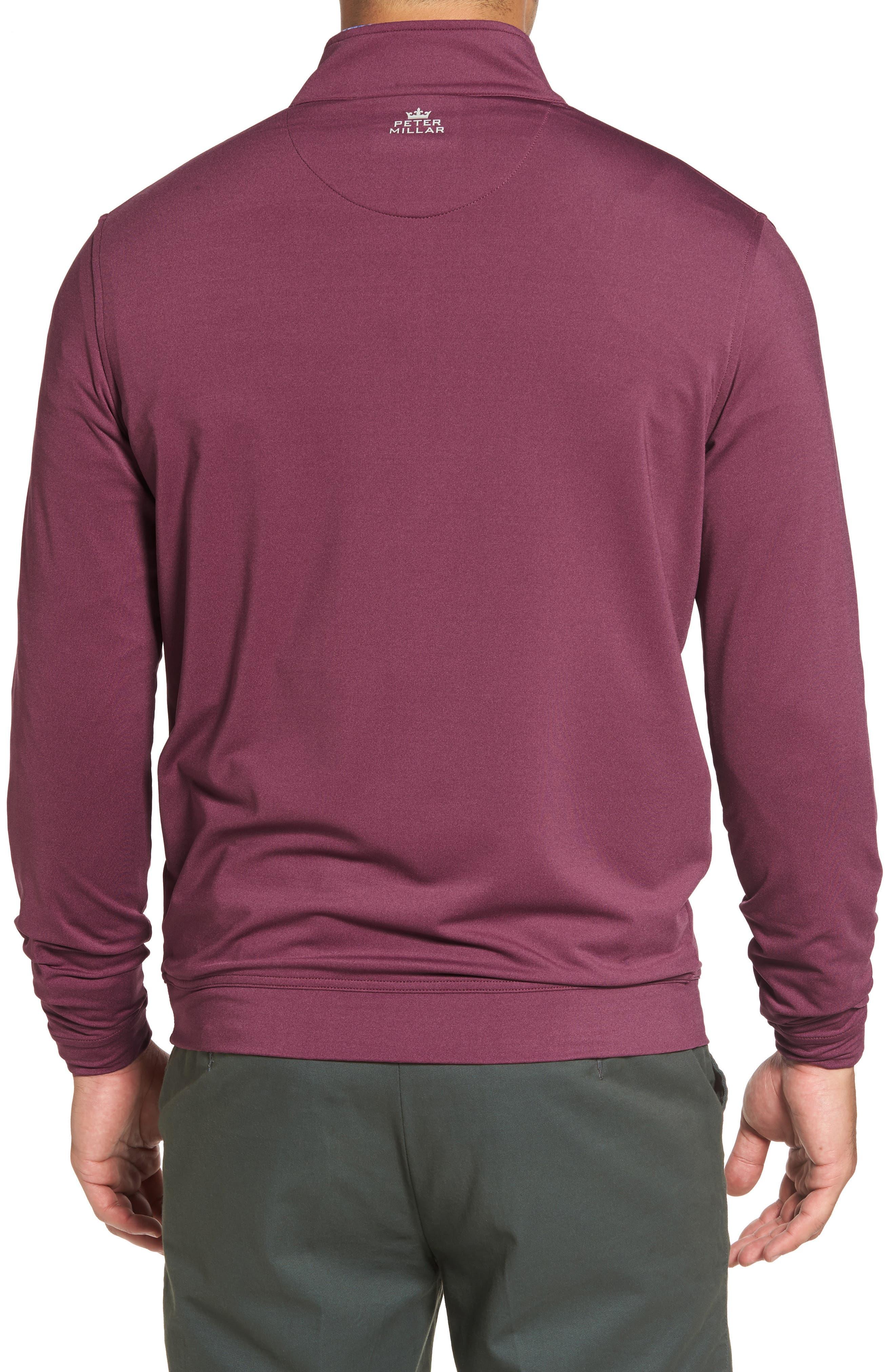 Perth Quarter Zip Stretch Pullover,                             Alternate thumbnail 10, color,