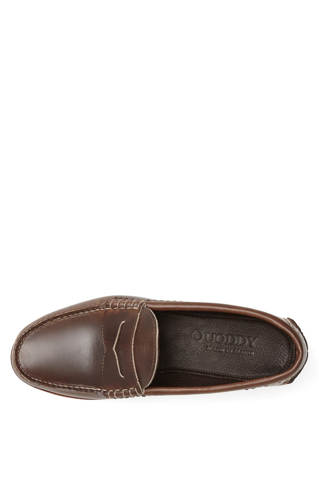 QUODDY,                             'True' Penny Loafer,                             Alternate thumbnail 4, color,                             204