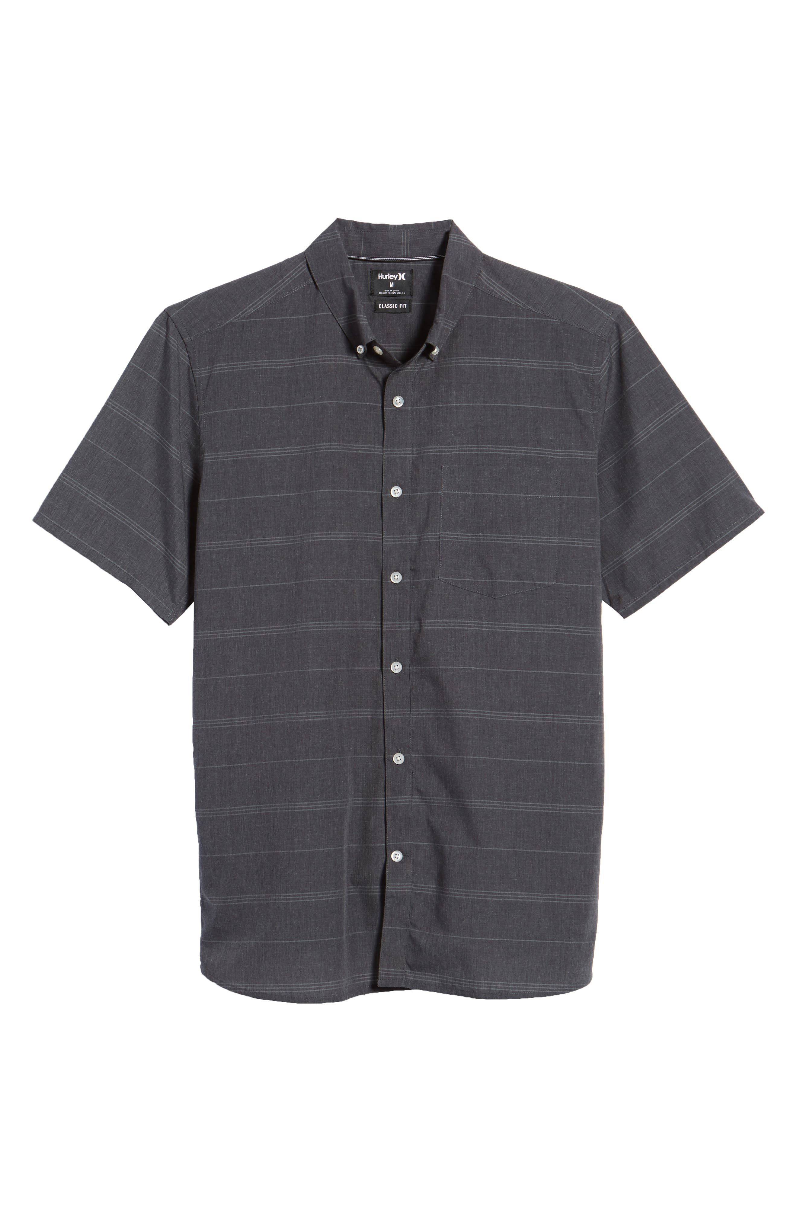 HURLEY,                             Dri-FIT Rhythm Shirt,                             Alternate thumbnail 6, color,                             010