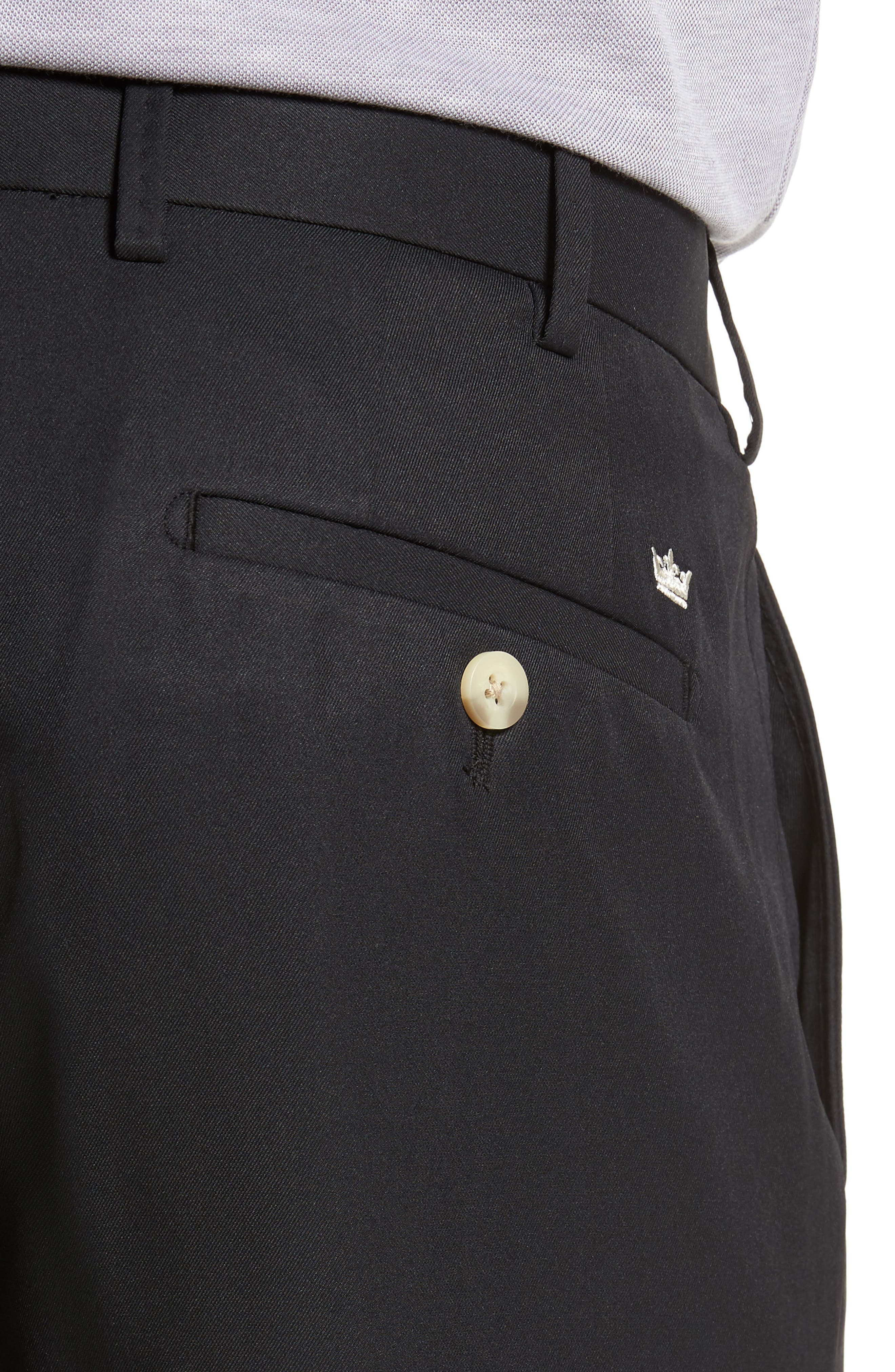 Durham High Drape Performance Pants,                             Alternate thumbnail 4, color,                             001