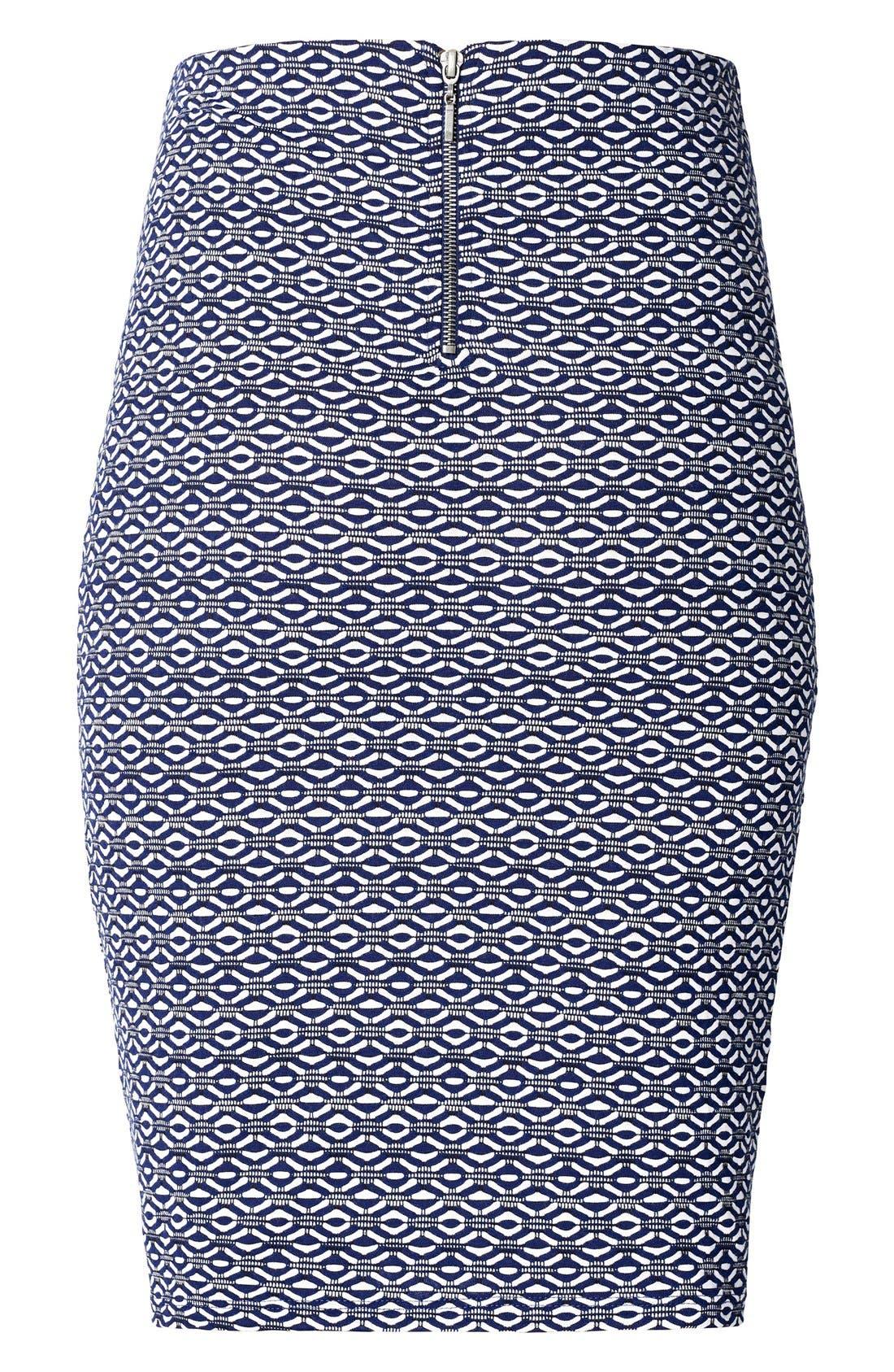 Rita Maternity Pencil Skirt,                             Main thumbnail 1, color,                             MEDIUM BLUE