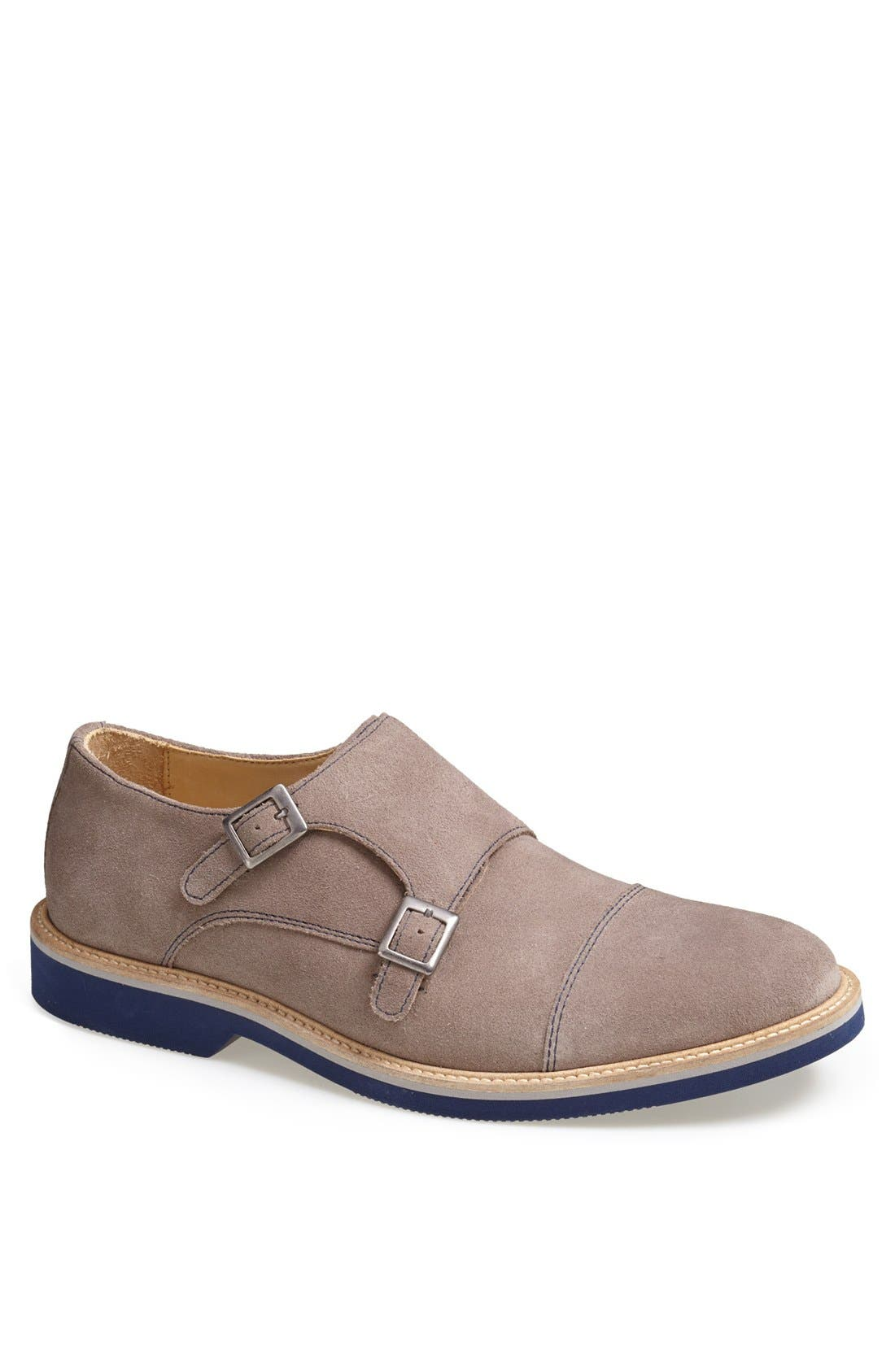 'Lynden' Double Monk Slip-On,                         Main,                         color, 099