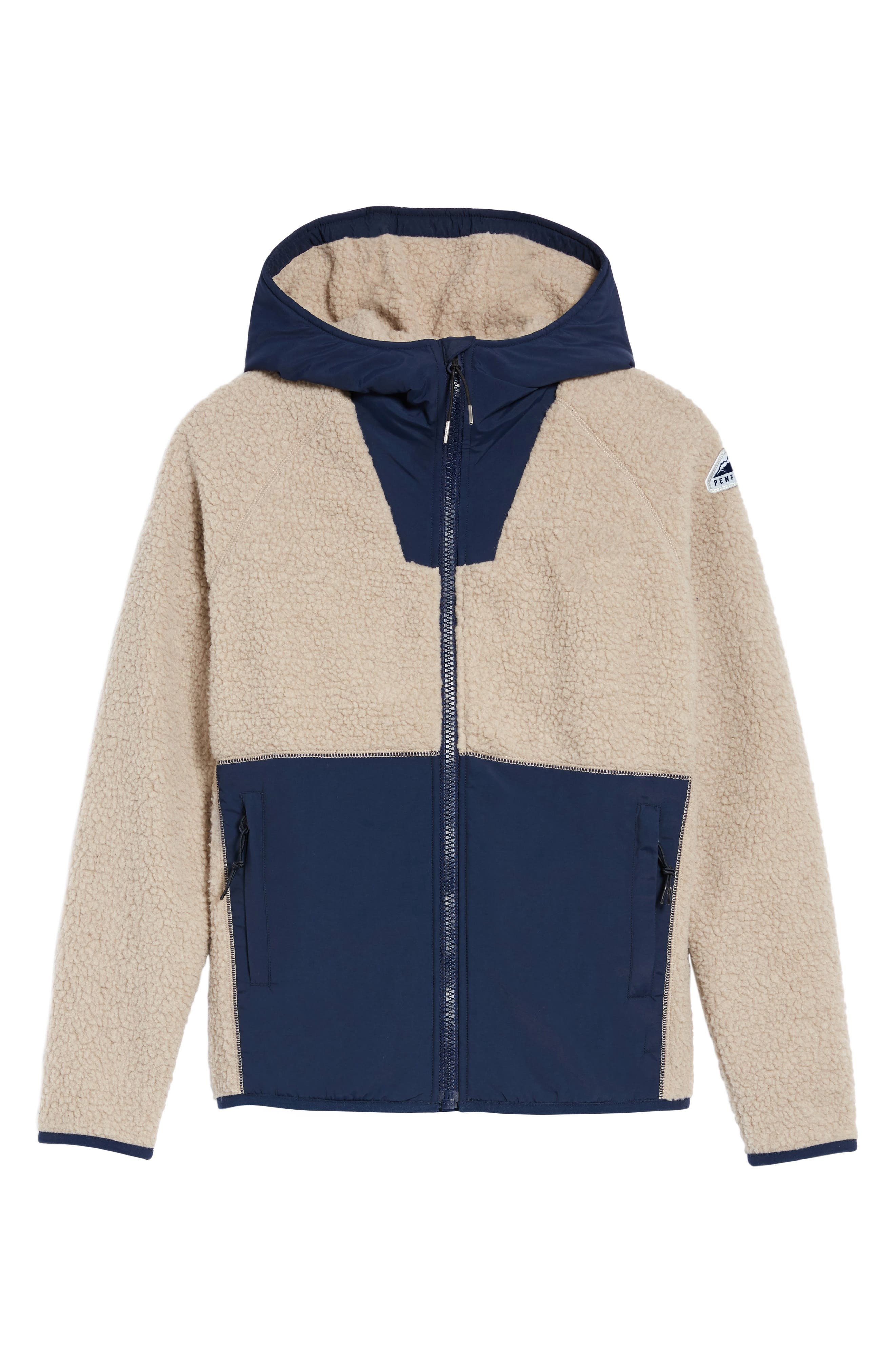 Vaughn Fleece Jacket,                             Alternate thumbnail 5, color,                             252