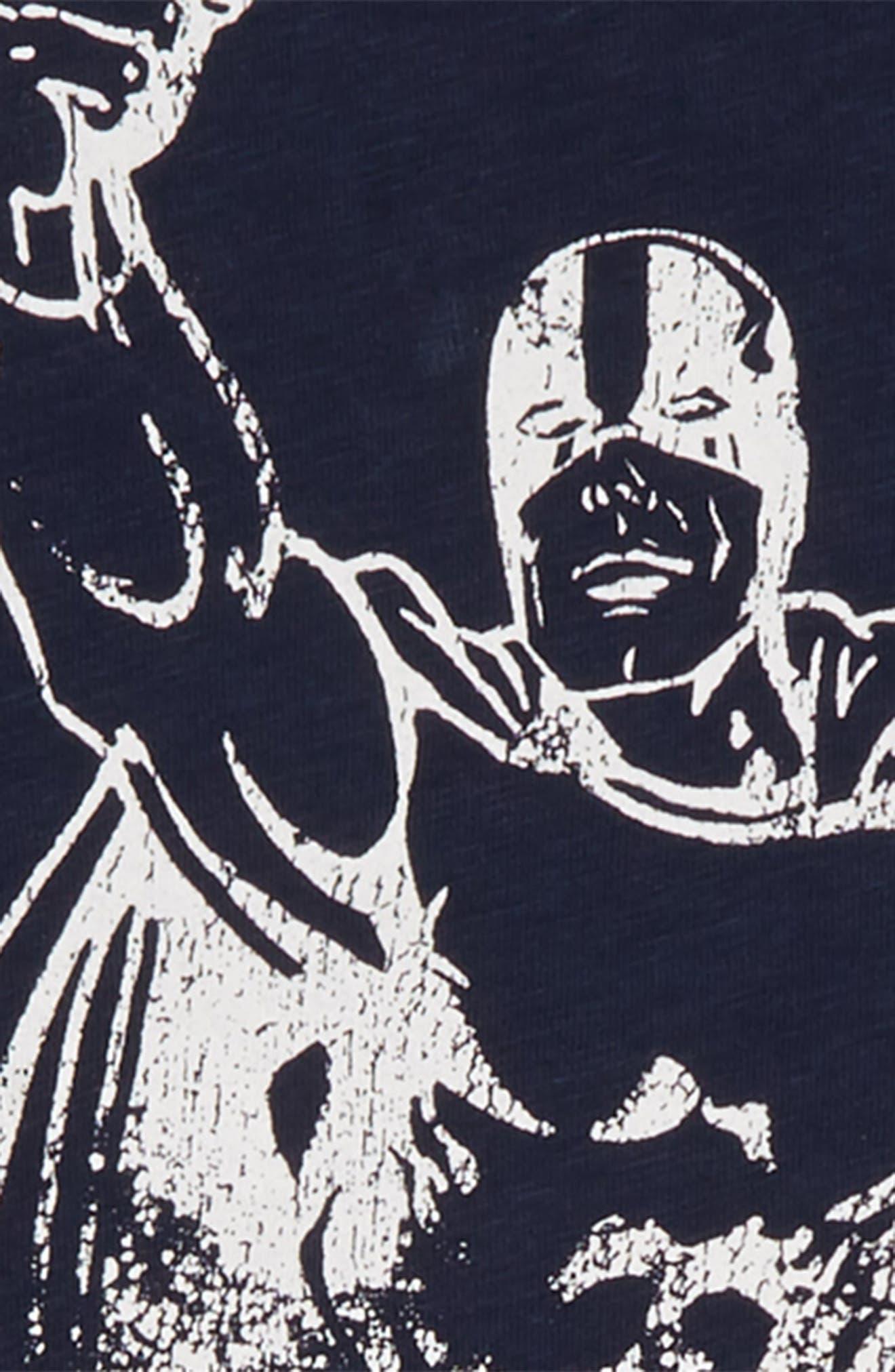 Superhero T-Shirt,                             Alternate thumbnail 2, color,                             NAVY