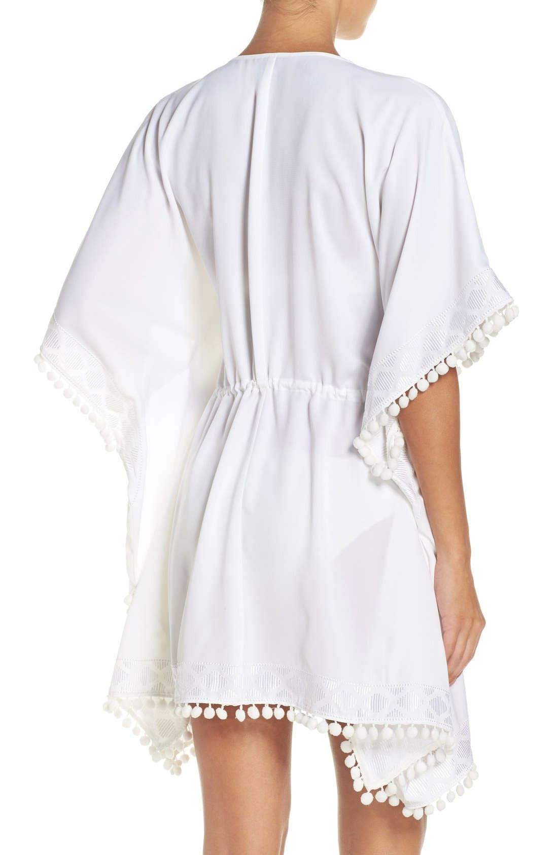 UPF 50 Tunic Cover-Up,                             Alternate thumbnail 3, color,