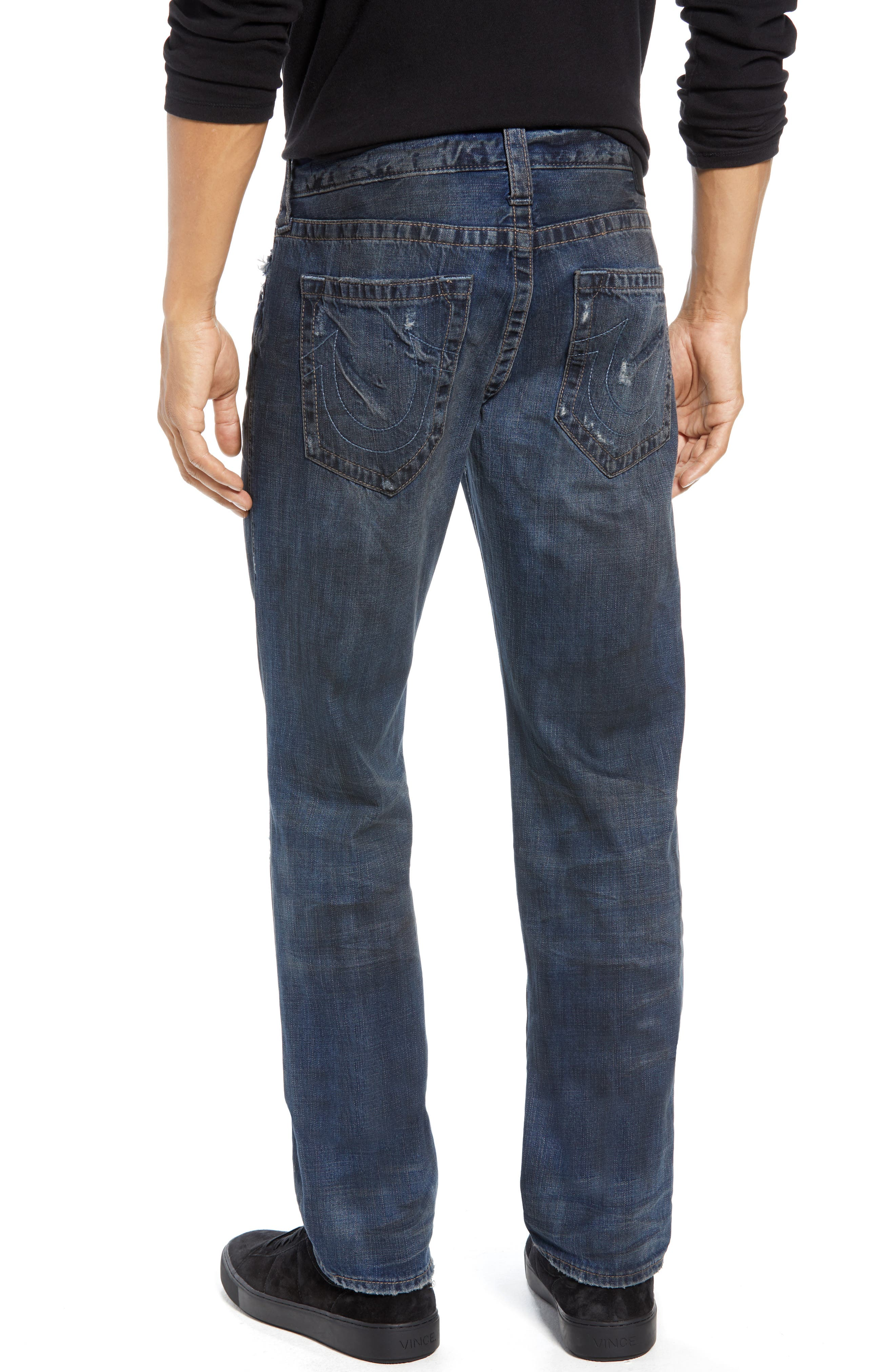Rocco Distressed Skinny Fit Jeans,                             Alternate thumbnail 2, color,                             MIDNIGHT STORM