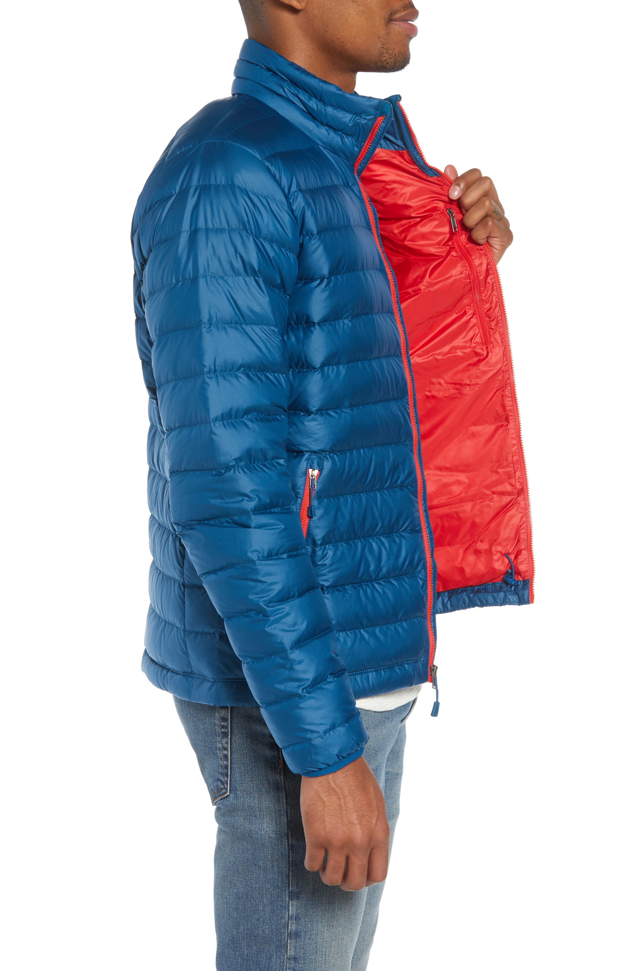 Water Repellent Down Jacket,                             Alternate thumbnail 48, color,