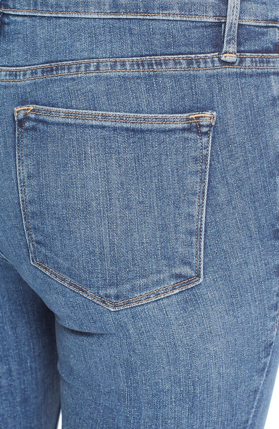 'Le High Flare' Jeans,                             Alternate thumbnail 26, color,