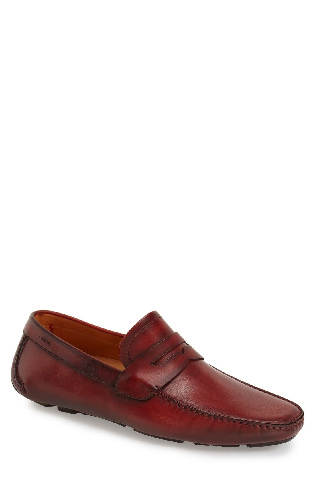 'Dylan' Leather Driving Shoe,                             Main thumbnail 6, color,