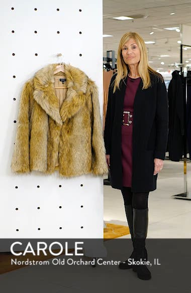 Camille Faux Fur Coat, sales video thumbnail