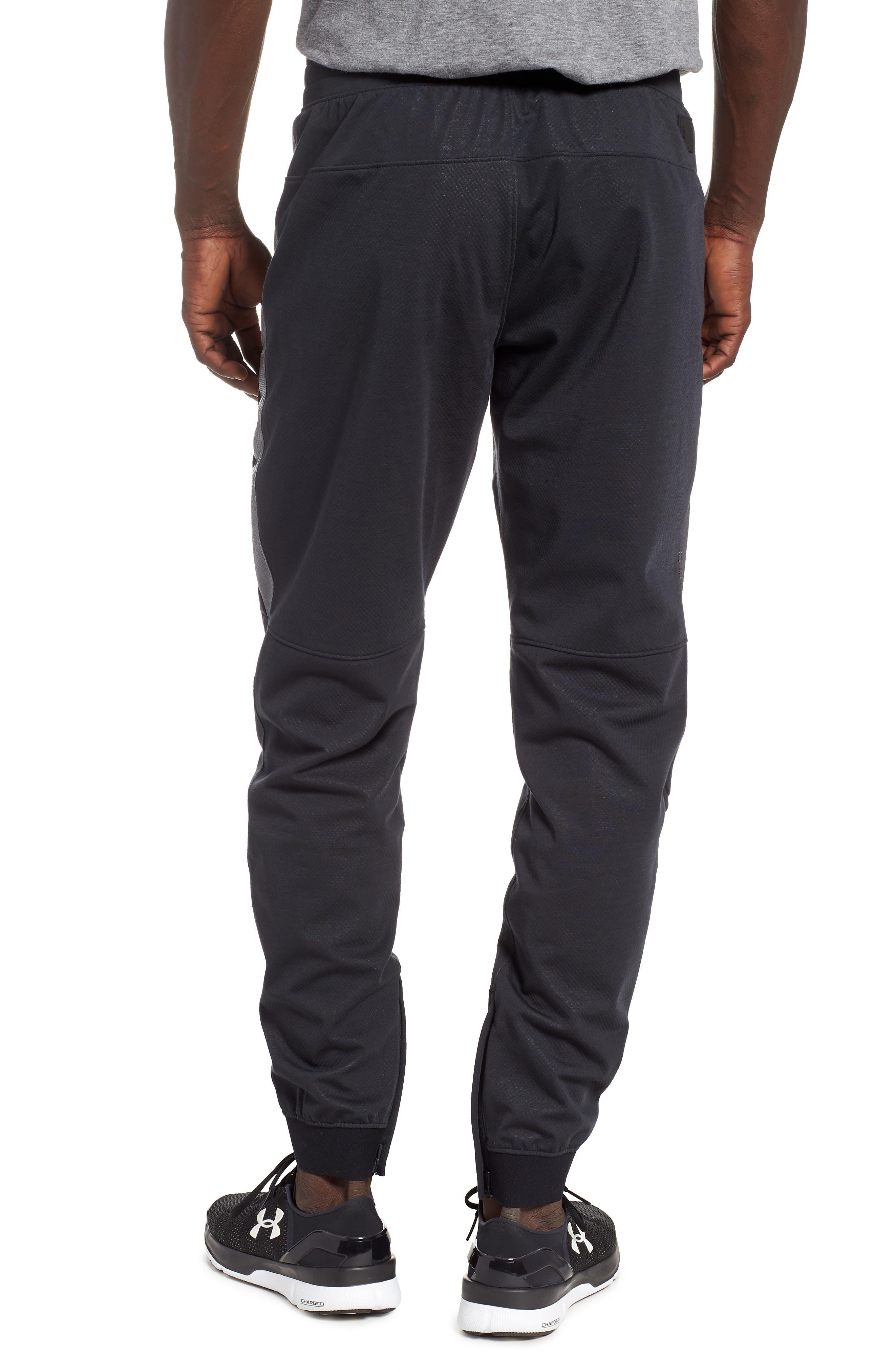 Unstoppable Swacket Training Pants,                             Alternate thumbnail 2, color,                             BLACK FULL HEATHER/ BLACK
