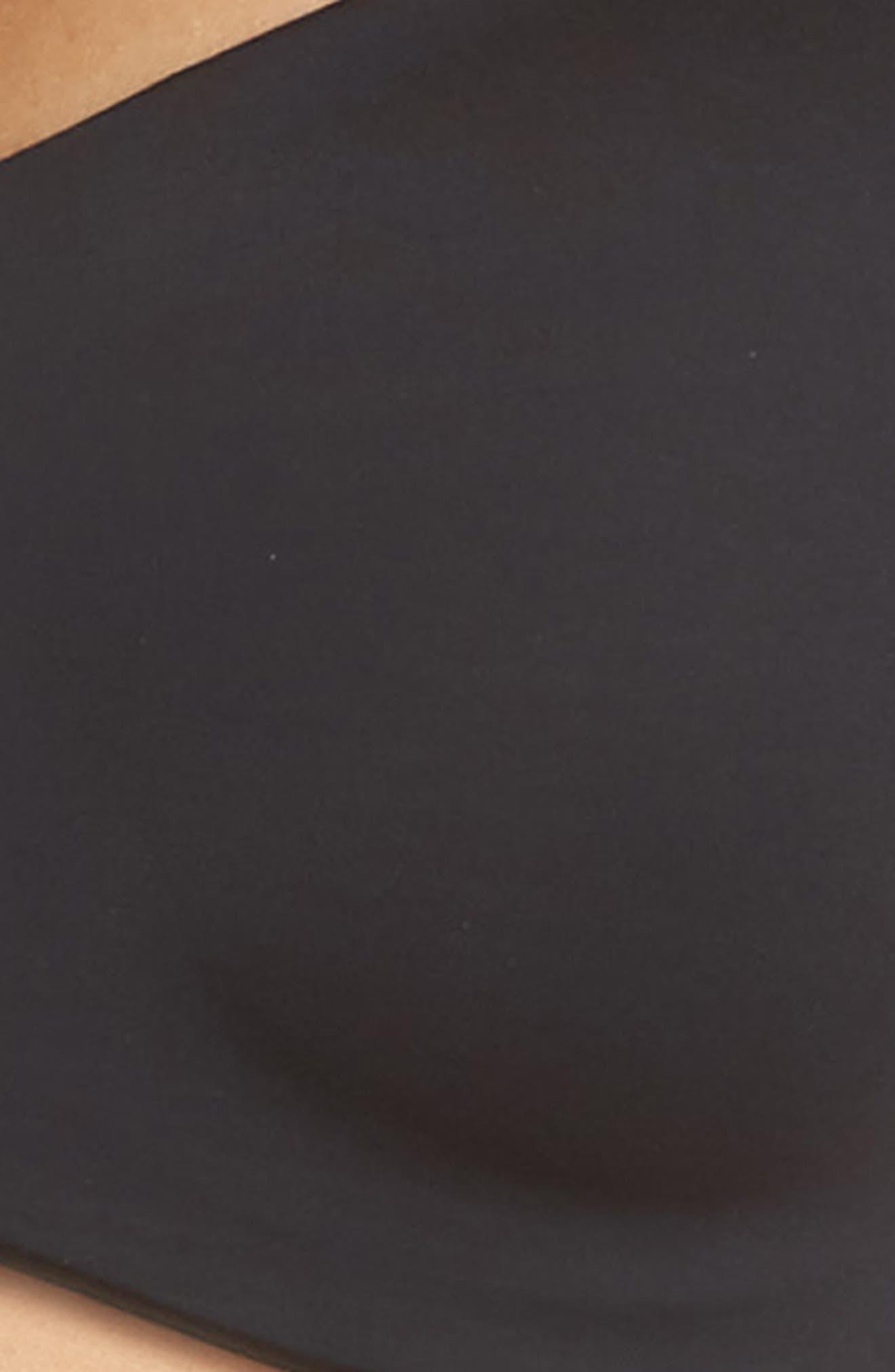 Underneath Underwire T-Shirt Bra,                             Alternate thumbnail 4, color,                             BLACK