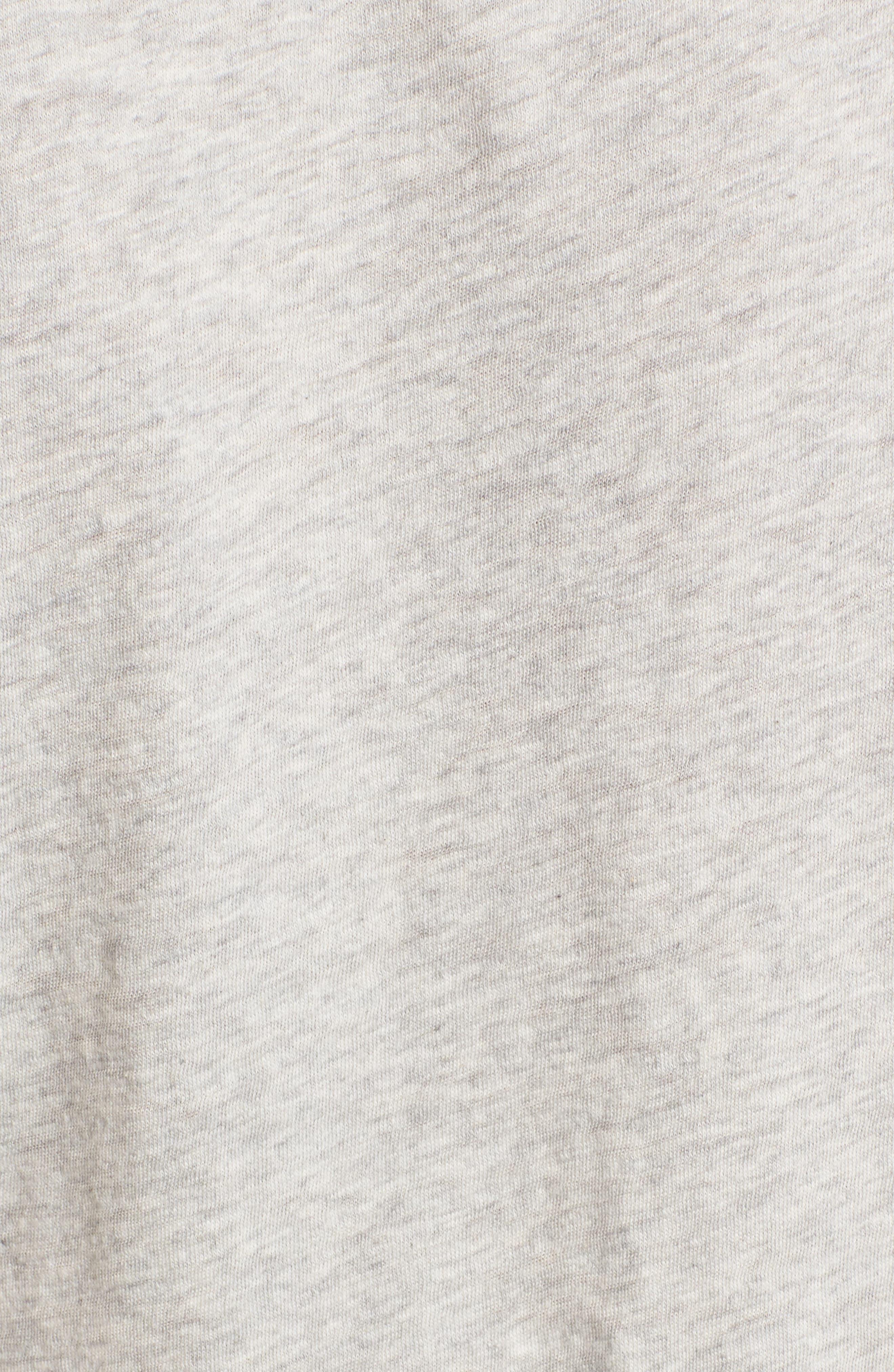 Pleat Sleeve Cotton Tee,                             Alternate thumbnail 22, color,