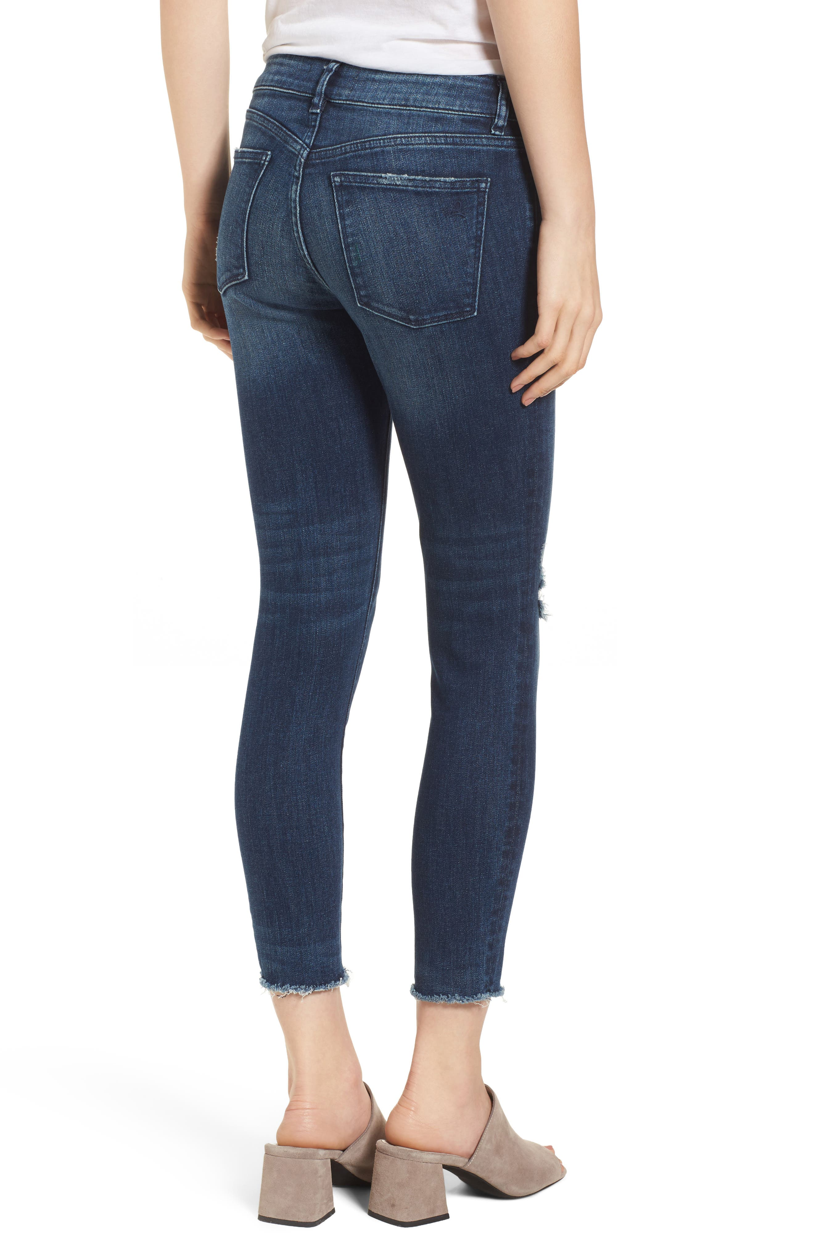 Florence Instasculpt Crop Skinny Jeans,                             Alternate thumbnail 2, color,