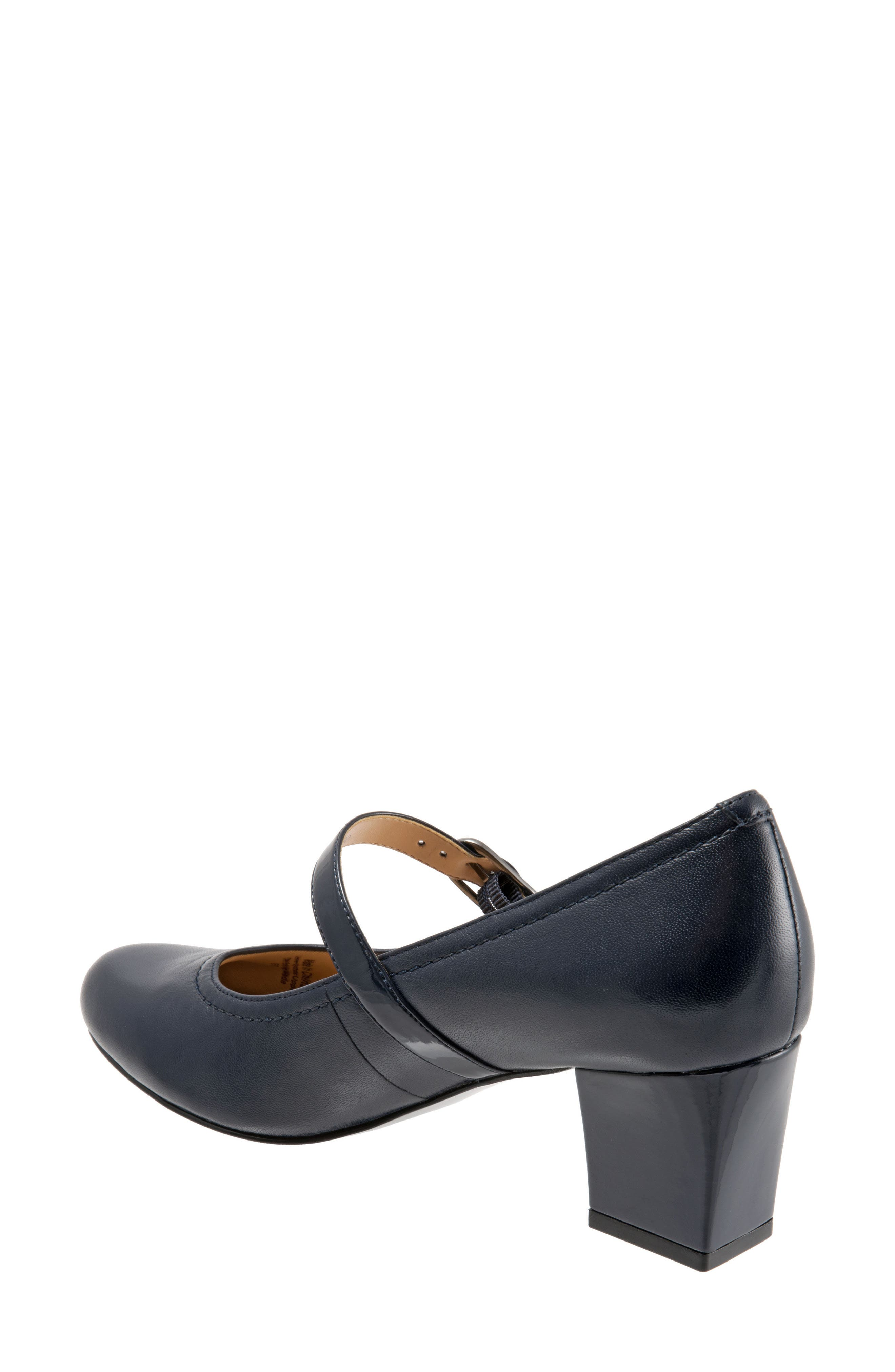 'Candice' Mary Jane Pump,                             Alternate thumbnail 2, color,                             NAVY LEATHER