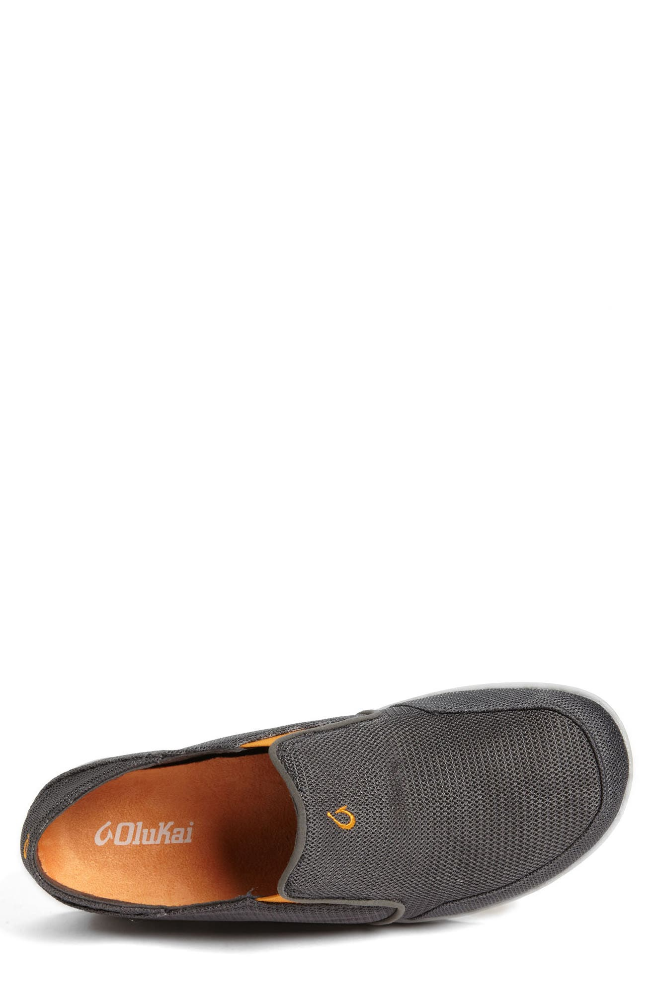 Nohea Mesh Slip-On,                             Alternate thumbnail 3, color,                             DARK SHADOW/ DARK SHADOW
