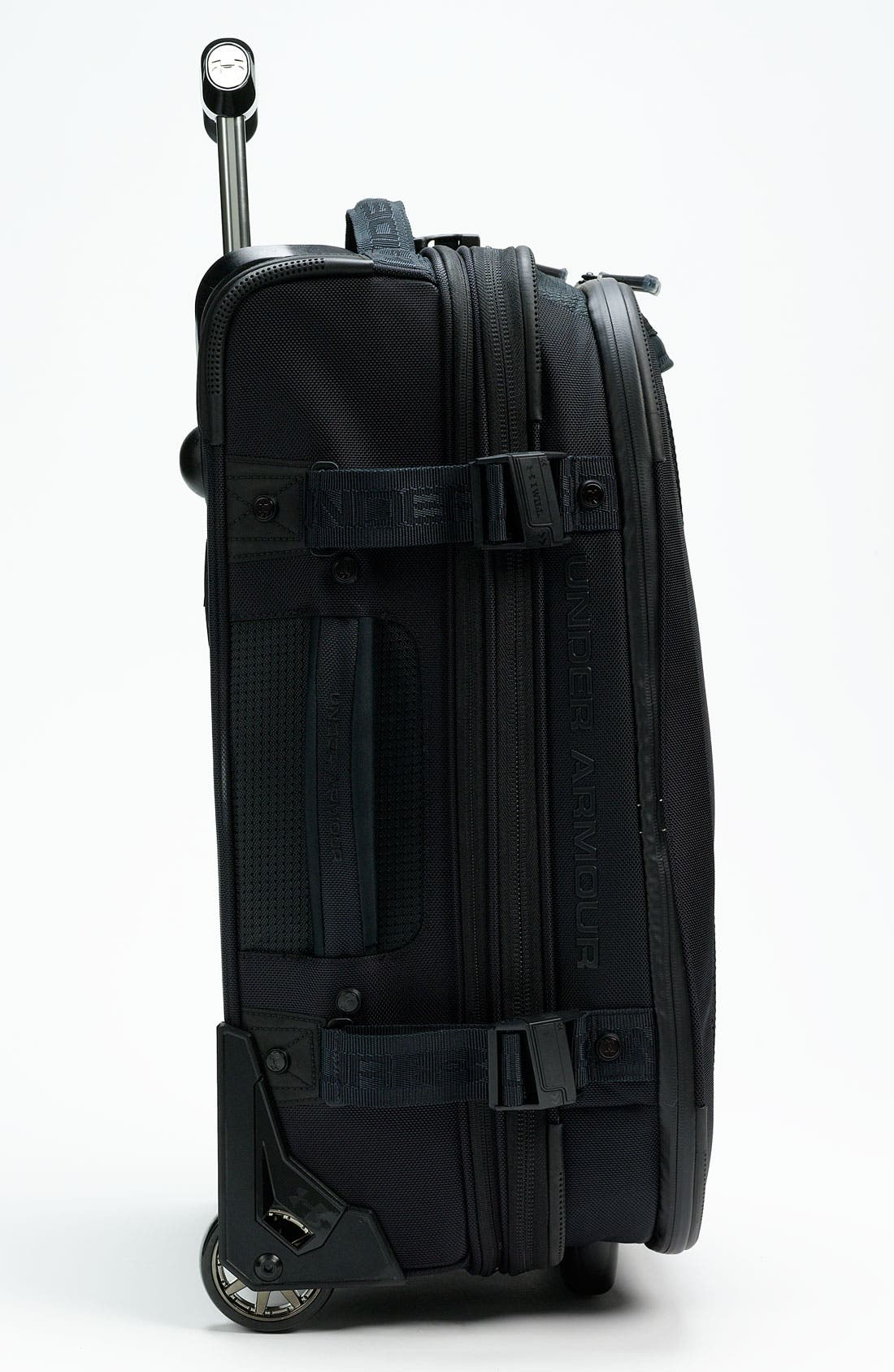 'Elite' Rolling Carry-On,                             Alternate thumbnail 2, color,                             001