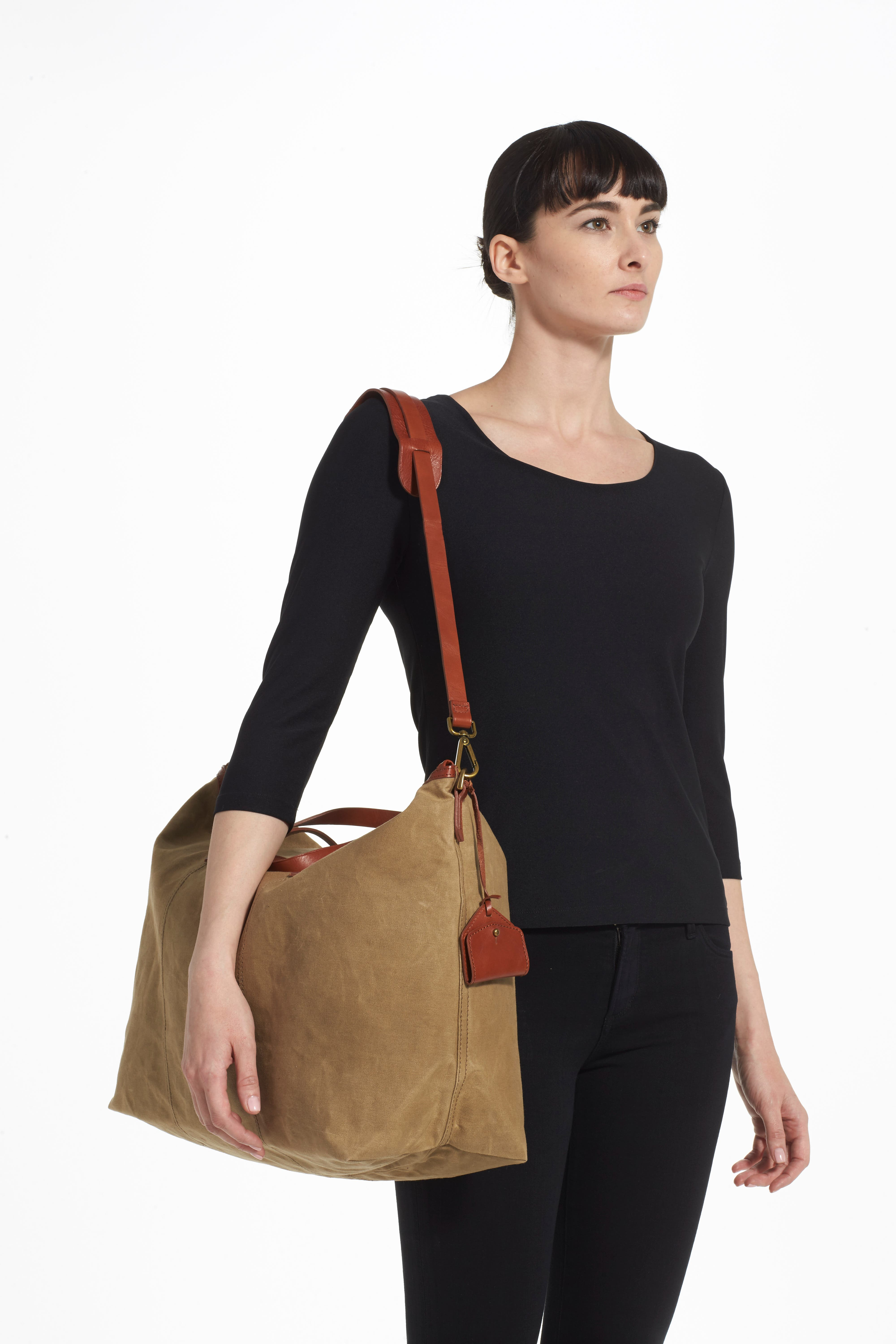 The Transport Canvas Weekend Bag,                             Alternate thumbnail 3, color,