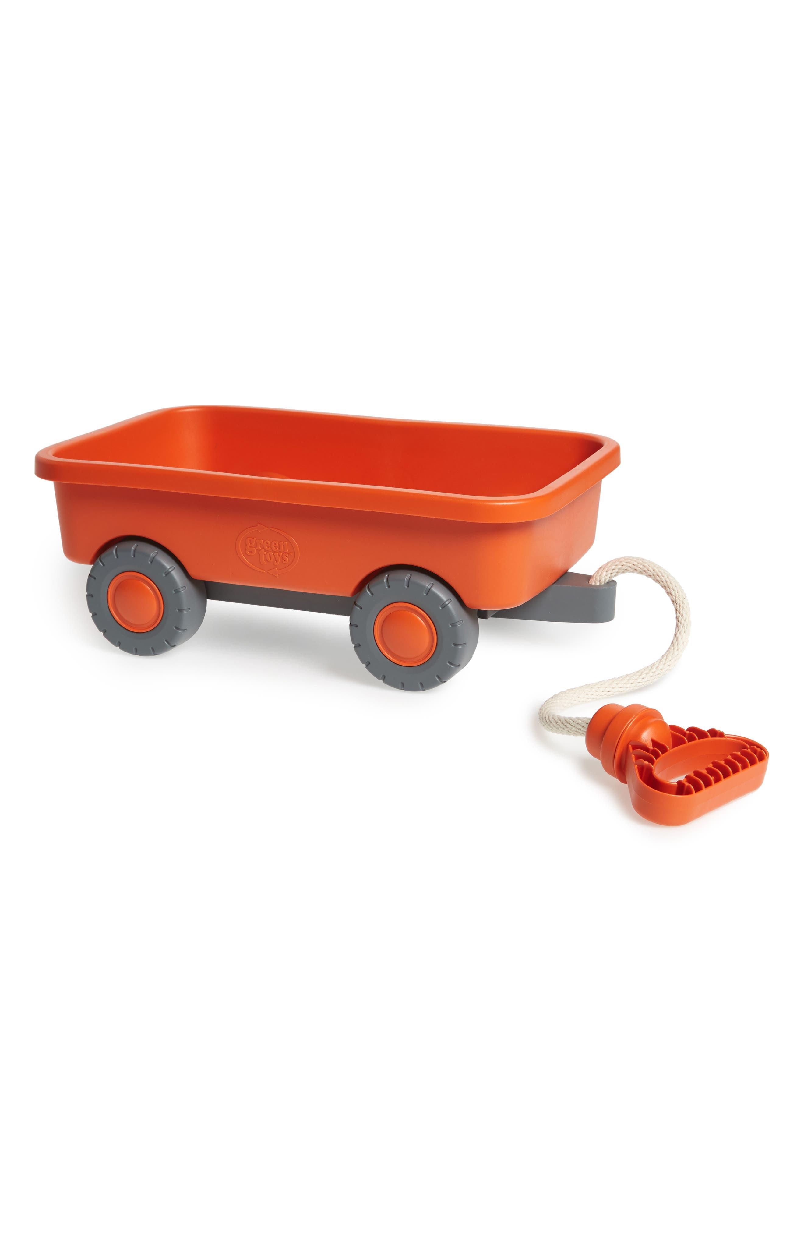 Orange Recycled Plastic Wagon,                             Main thumbnail 1, color,                             800