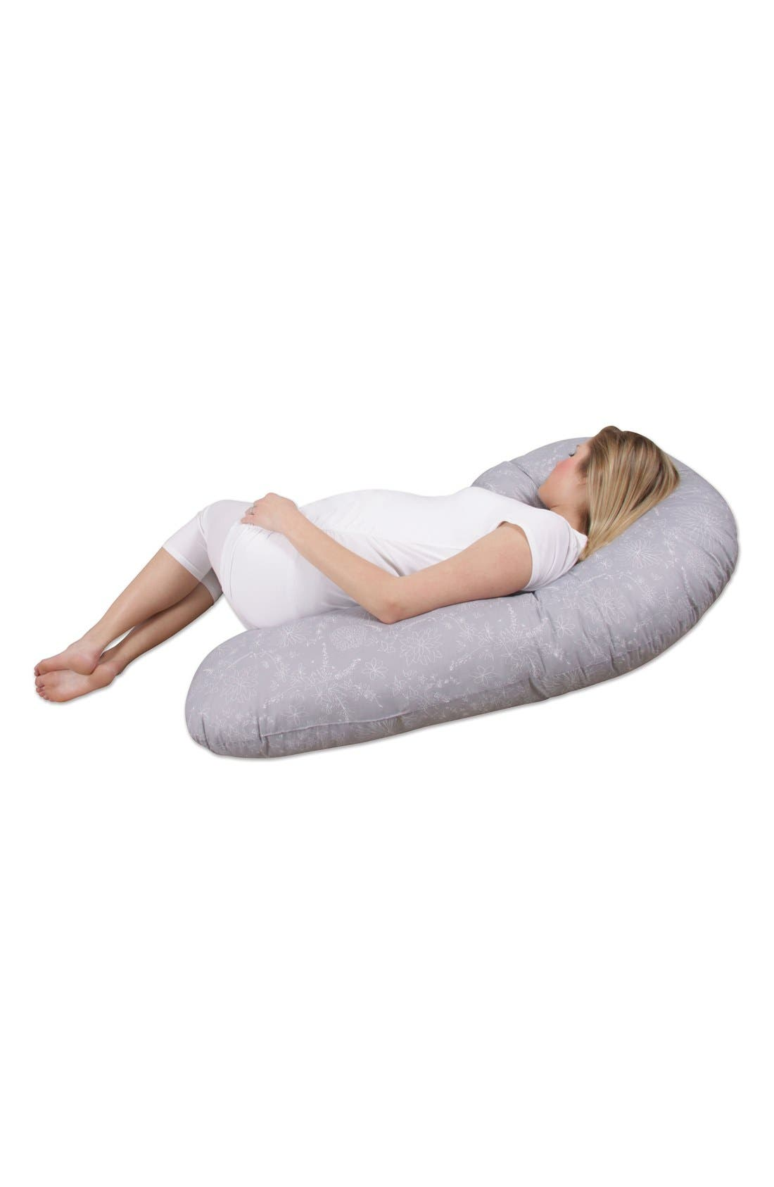 'Preggle<sup>®</sup> Chic - XL' Pregnancy Support Pillow,                             Alternate thumbnail 11, color,