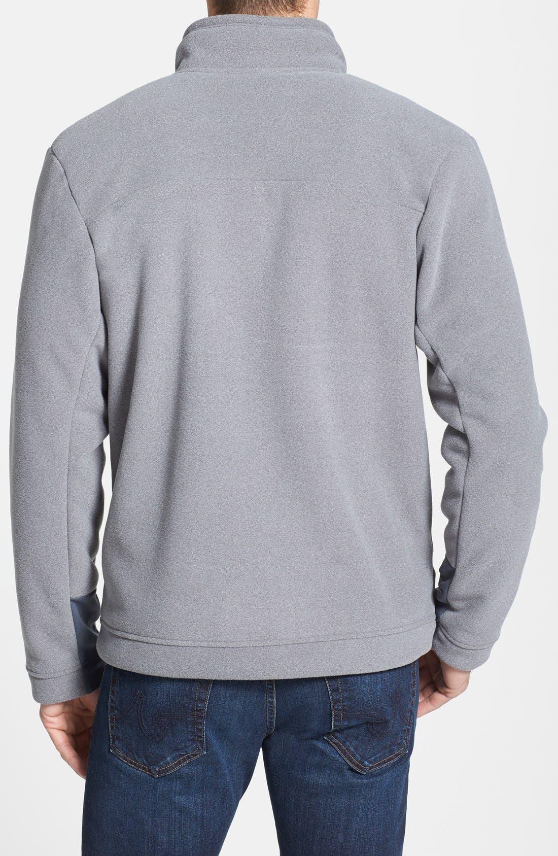'Chimborazo' Zip Front Fleece Jacket,                             Alternate thumbnail 22, color,