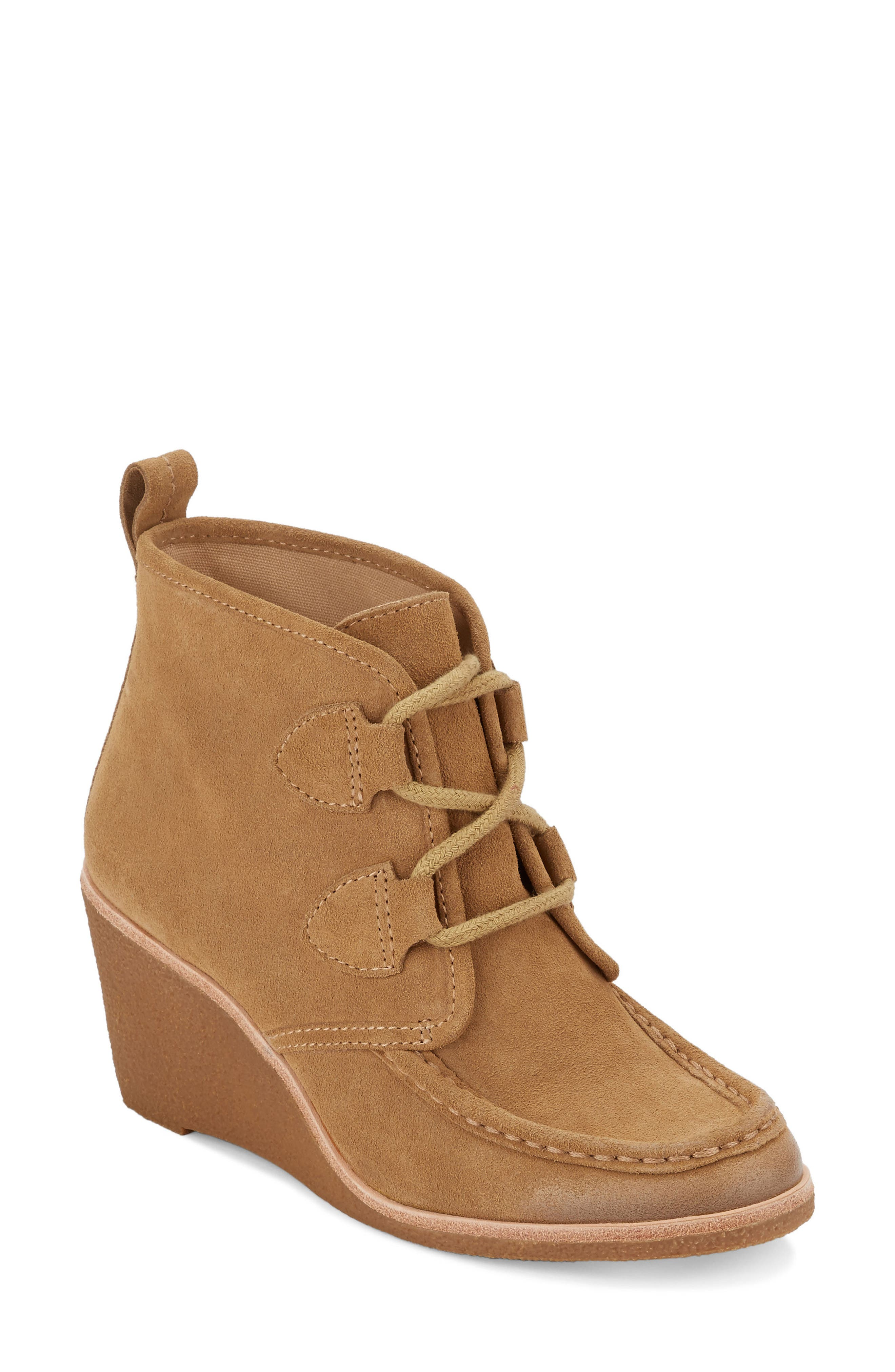 Rosa Wedge Bootie,                             Main thumbnail 4, color,