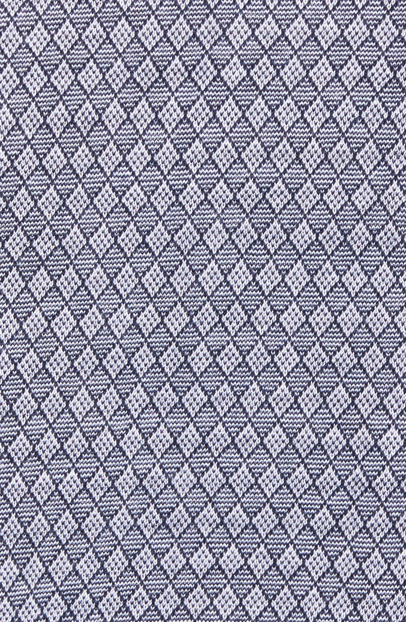 Regular Fit Diamond Jacquard Polo,                             Alternate thumbnail 13, color,
