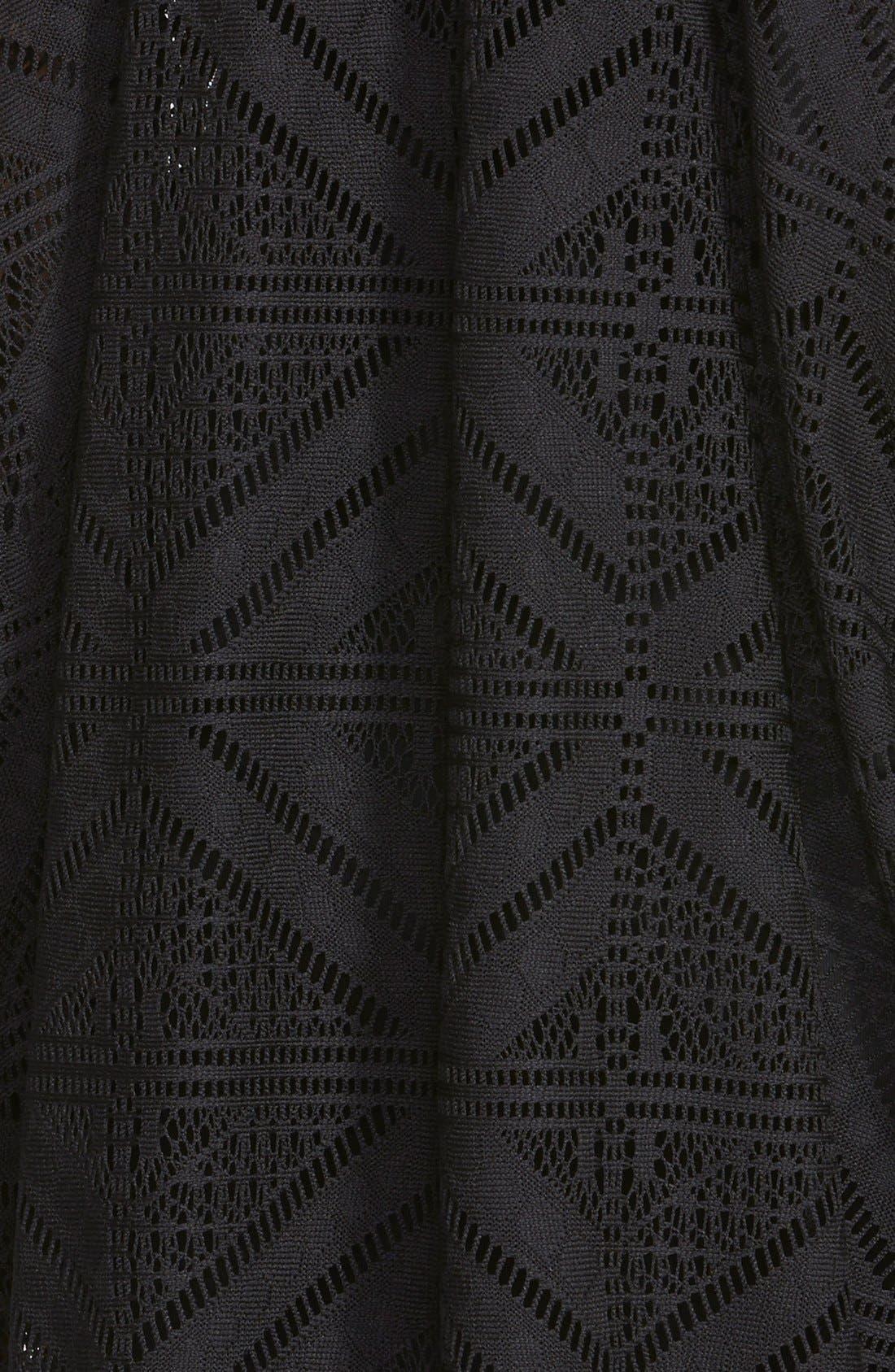 ASTR Sleeveless Crochet Dress,                             Alternate thumbnail 2, color,