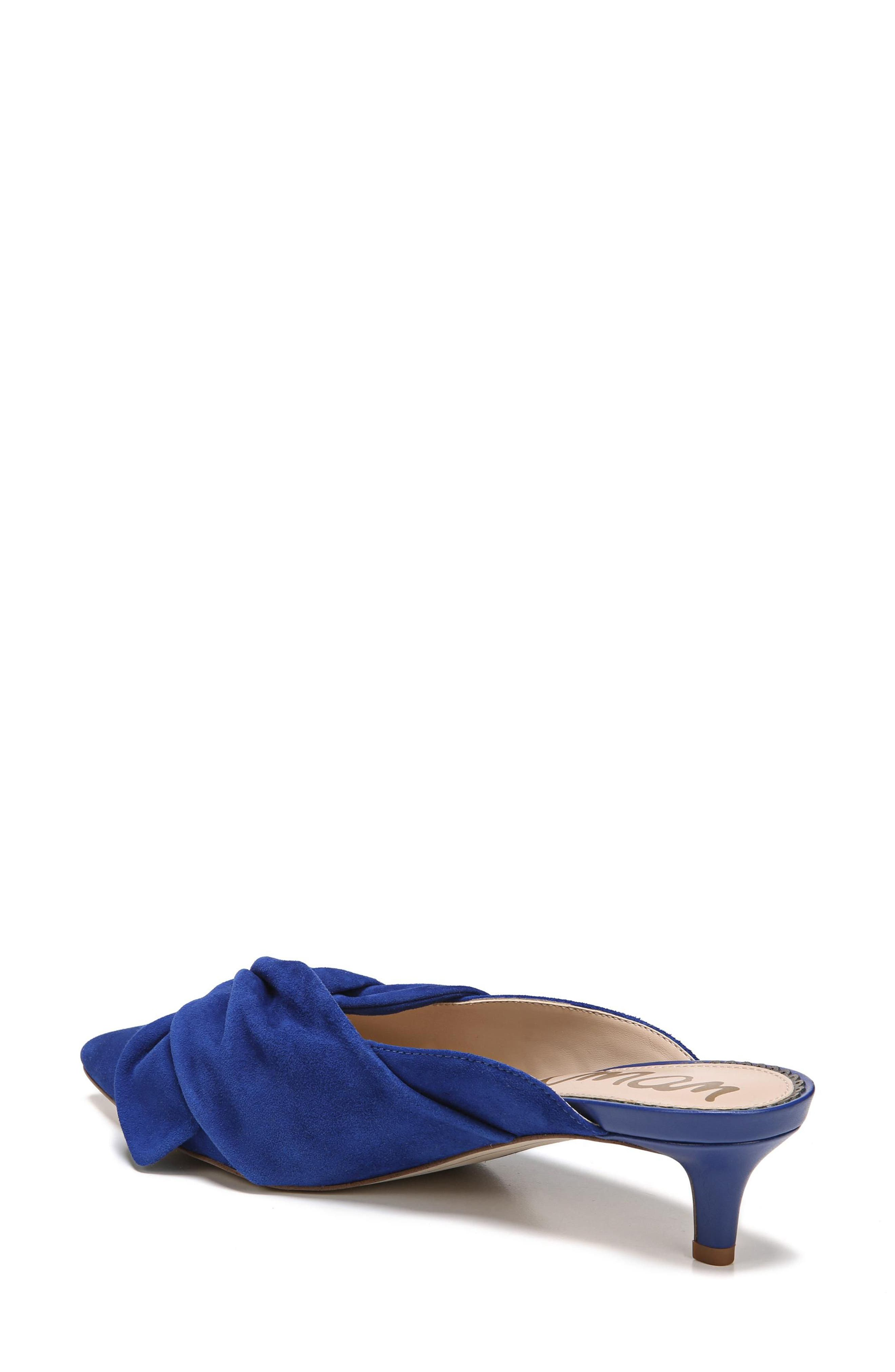 Laney Pointy Toe Mule,                             Alternate thumbnail 8, color,