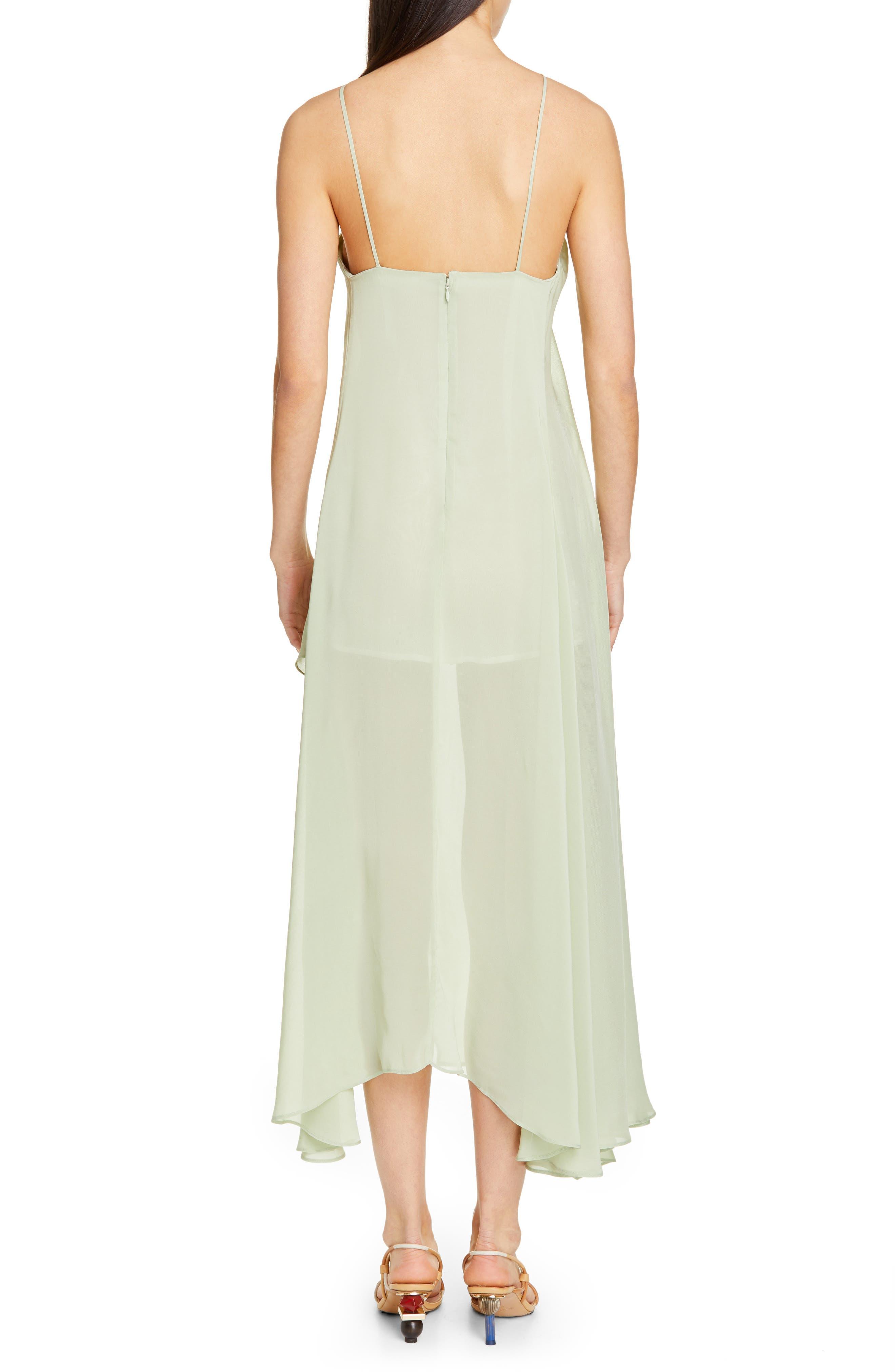 La Robe Spiaggia Halter Dress,                             Alternate thumbnail 2, color,                             LIGHT GREEN
