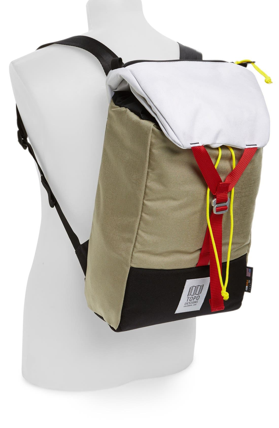TOPO DESIGNS,                             'Y-Pack' Backpack,                             Alternate thumbnail 3, color,                             031