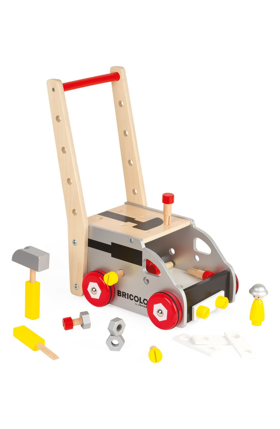 'Bricolo Redmaster Workbench and Trolley' Toy Set,                             Alternate thumbnail 2, color,                             MULTI
