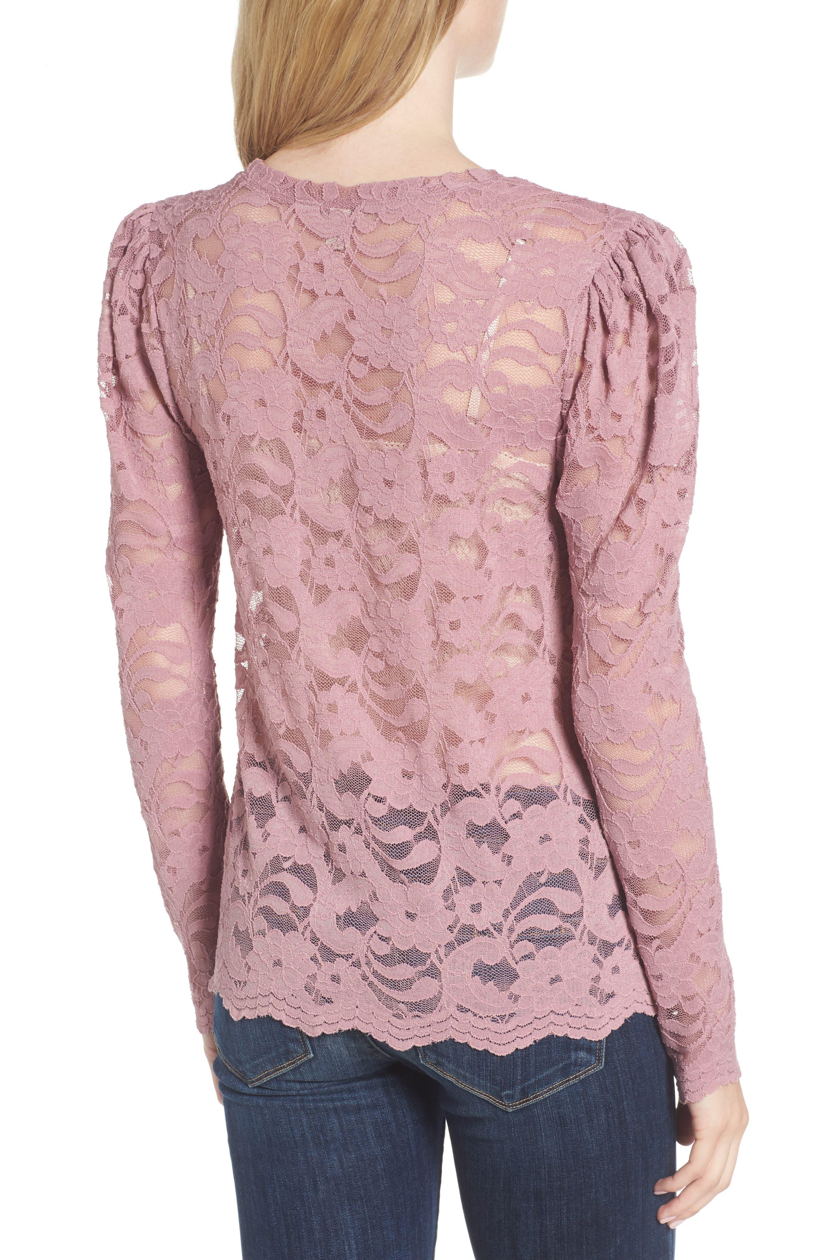 Lace Top,                             Alternate thumbnail 2, color,                             500