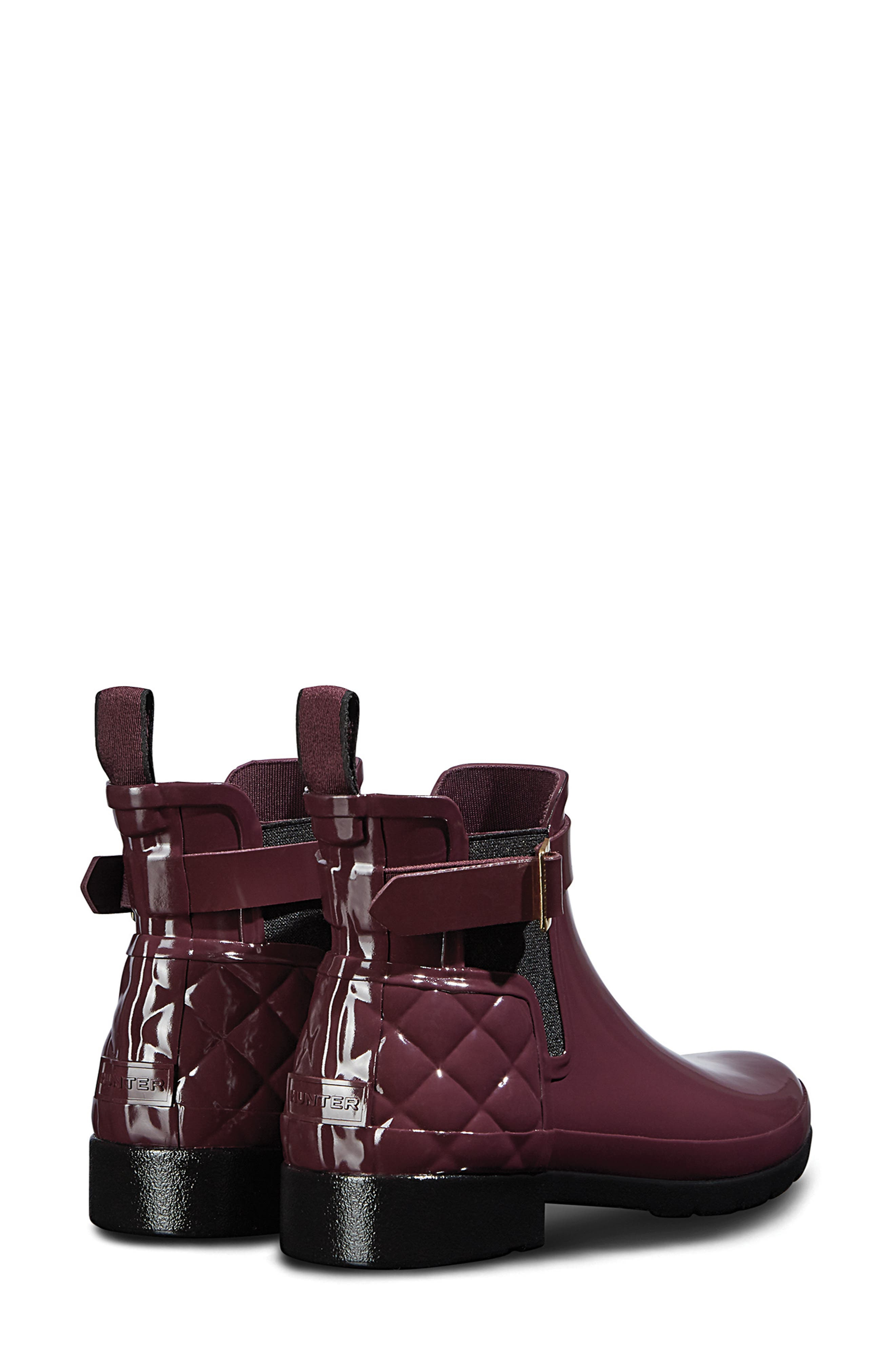 Original Refined Quilted Gloss Chelsea Waterproof Boot,                             Alternate thumbnail 2, color,                             519