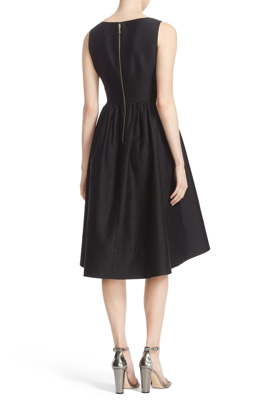 'heritage' sleeveless fit & flare dress,                             Alternate thumbnail 5, color,                             001