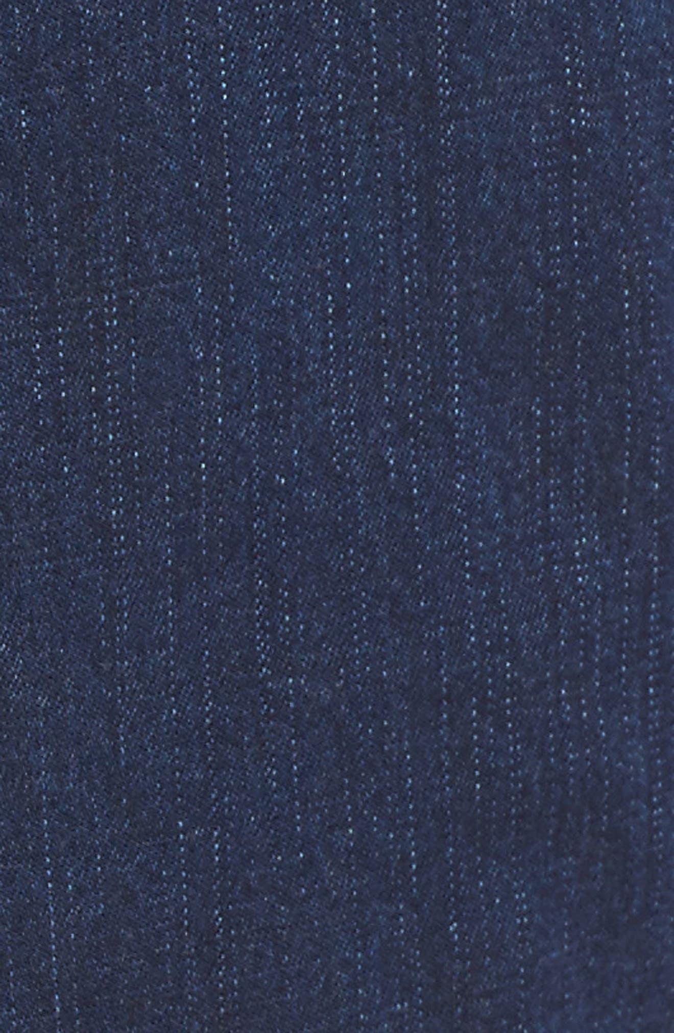 Slouchy Ankle Denim Pants,                             Alternate thumbnail 6, color,                             419
