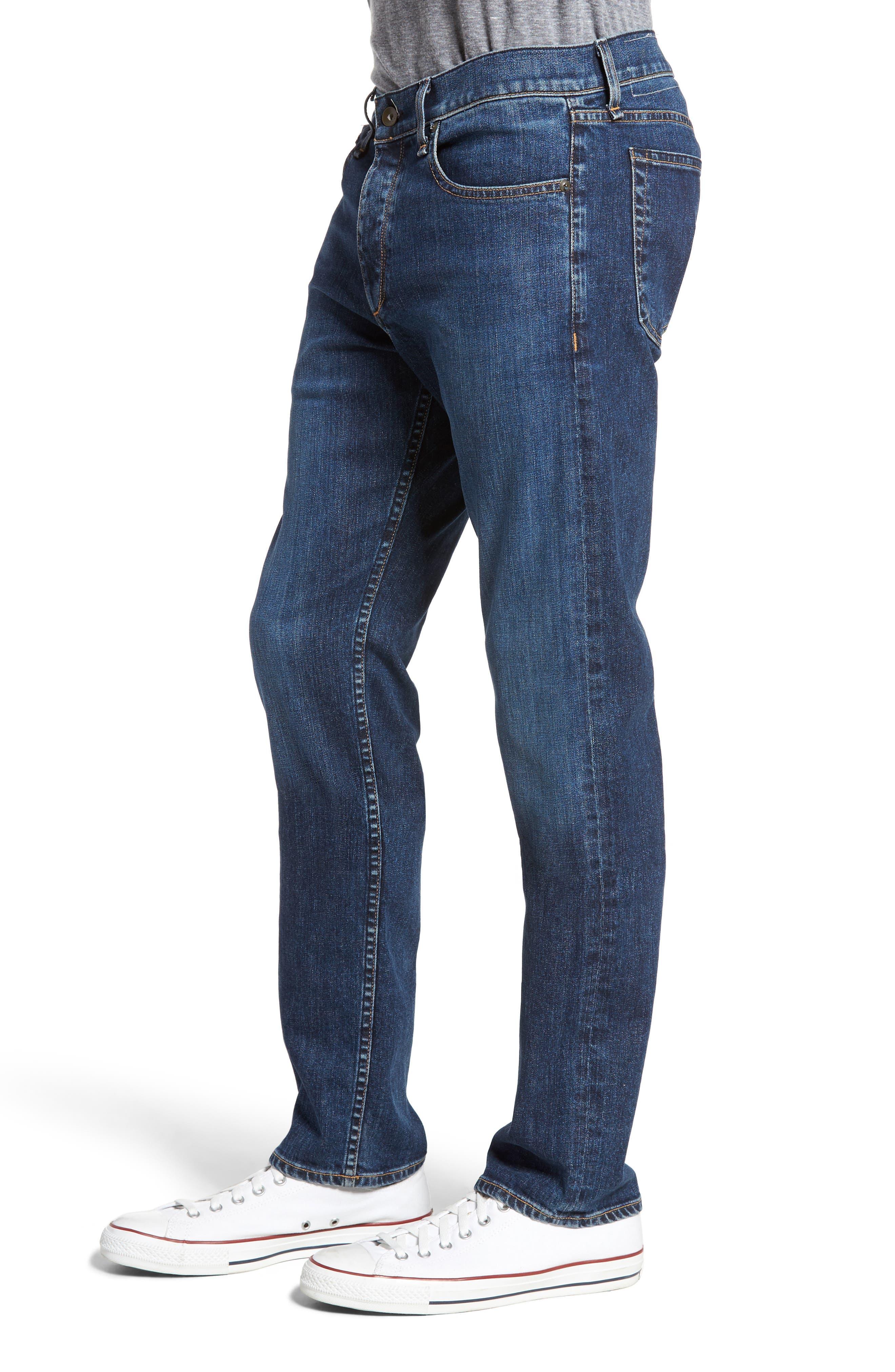 Fit 3 Slim Straight Leg Jeans,                             Alternate thumbnail 3, color,                             423