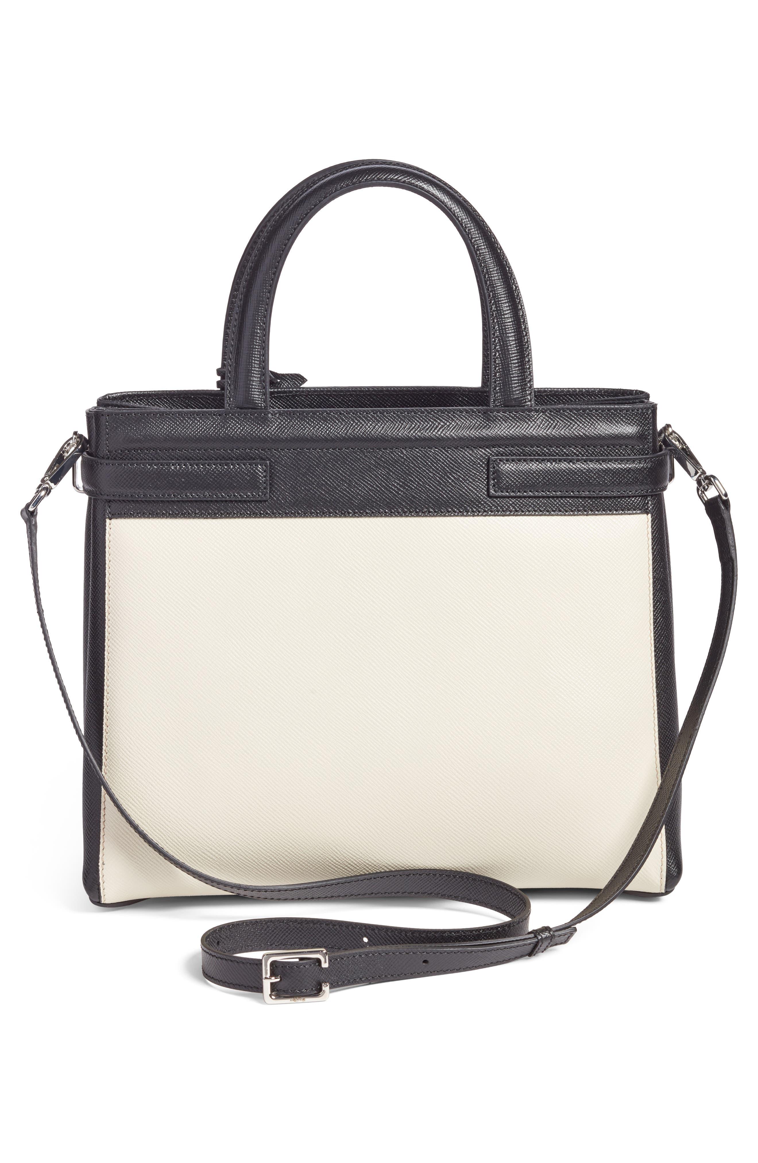 Small Meline Evolution Leather Bag,                             Alternate thumbnail 10, color,
