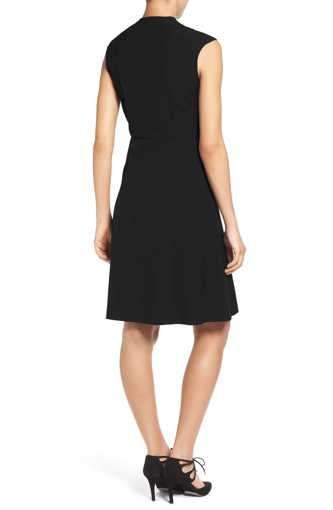 Fit & Flare Dress,                             Alternate thumbnail 22, color,