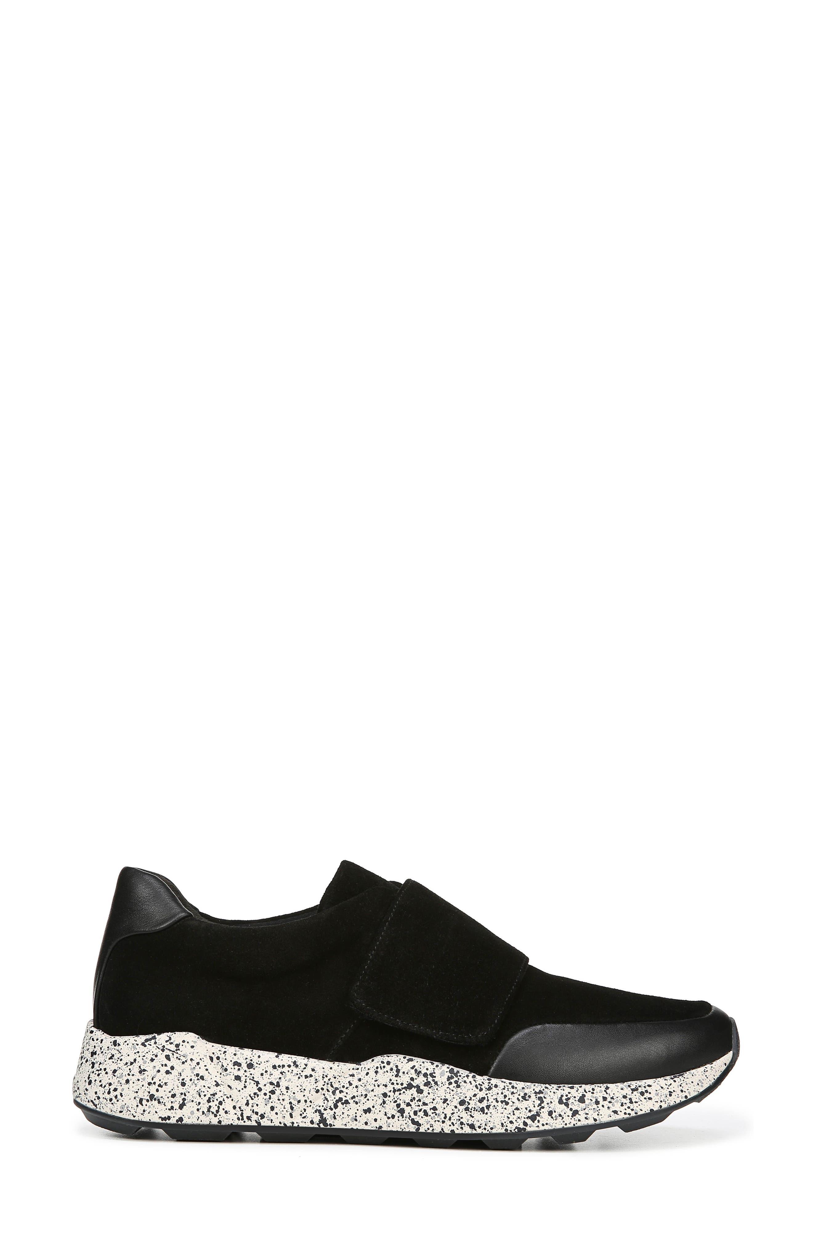 Gage Sneaker,                             Alternate thumbnail 3, color,                             BLACK COCO