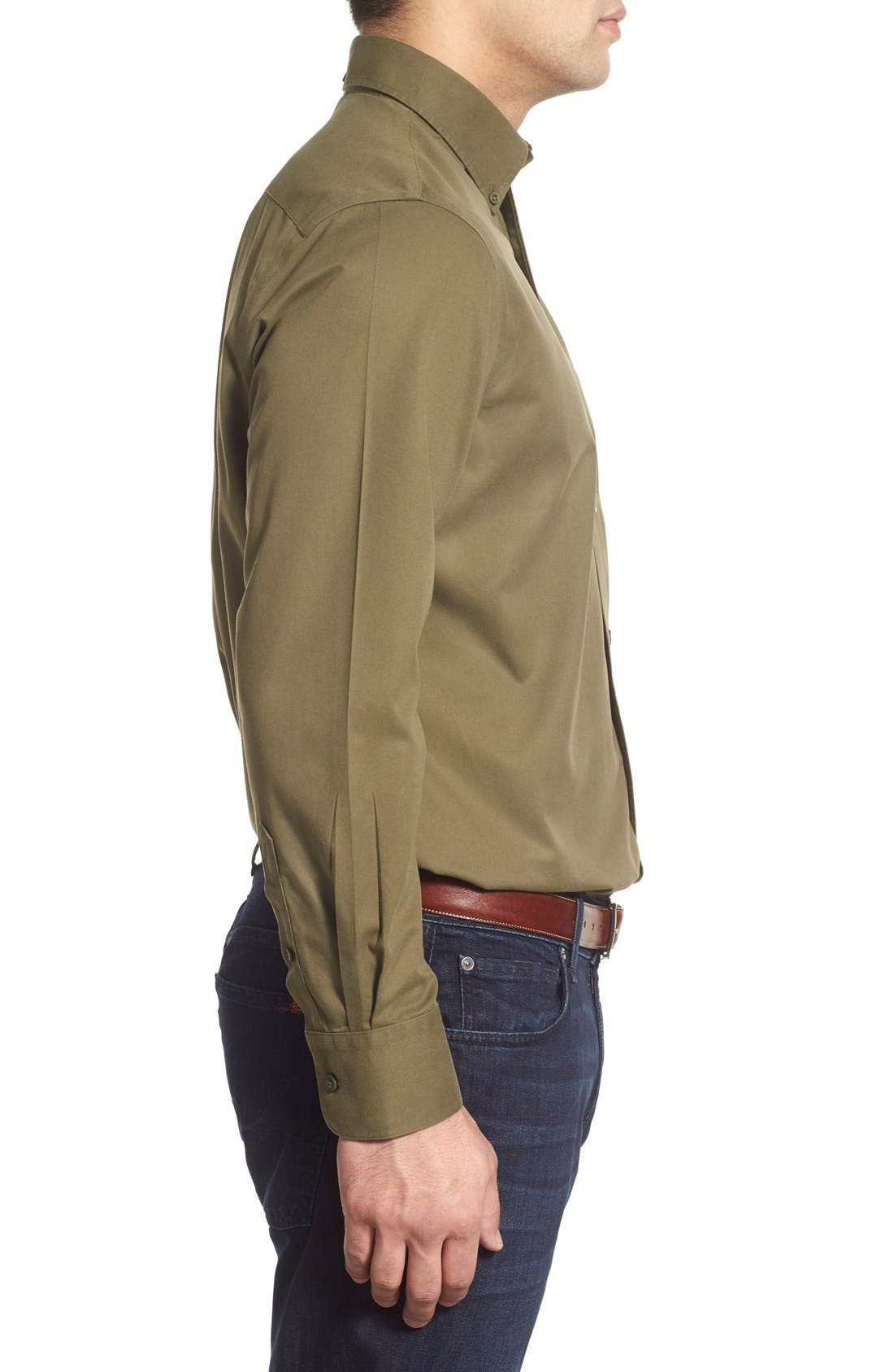 Smartcare<sup>™</sup> Traditional Fit Twill Boat Shirt,                             Alternate thumbnail 89, color,