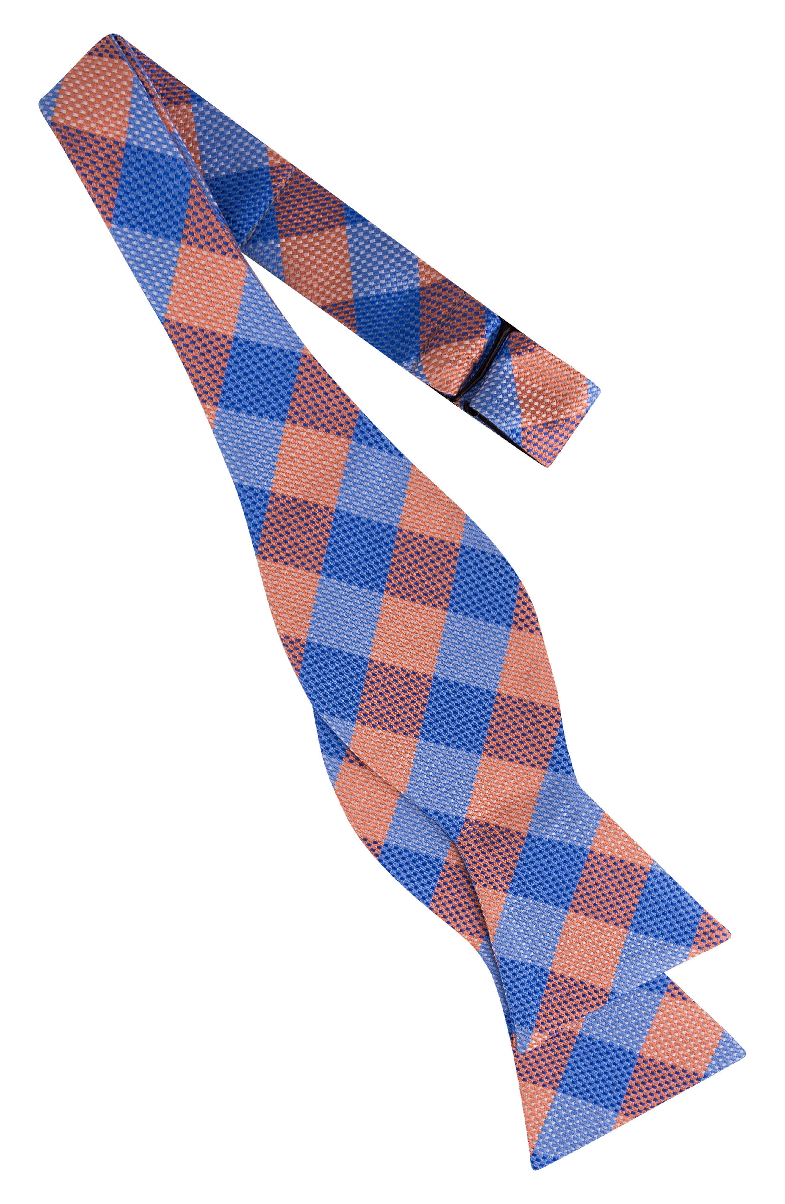 Derby Check Silk Bow Tie,                             Alternate thumbnail 10, color,