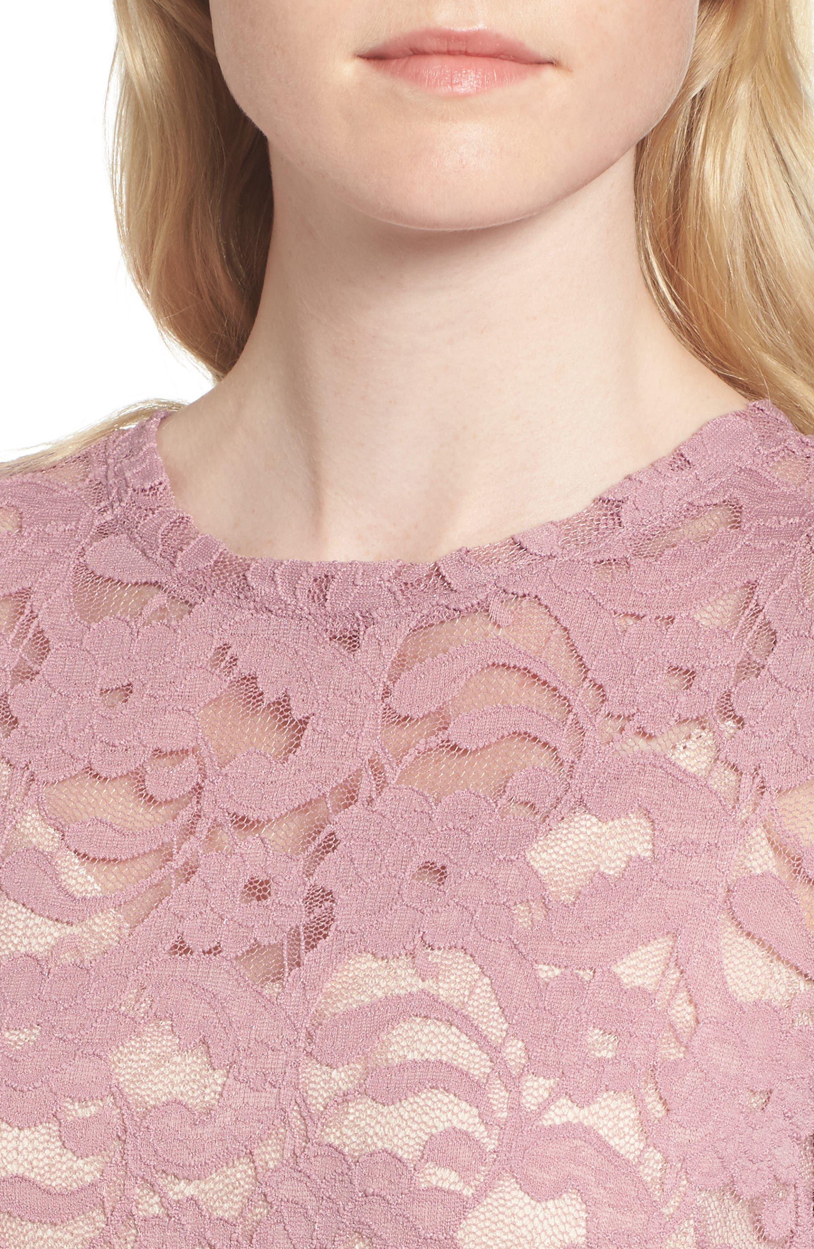 Lace Top,                             Alternate thumbnail 4, color,                             500