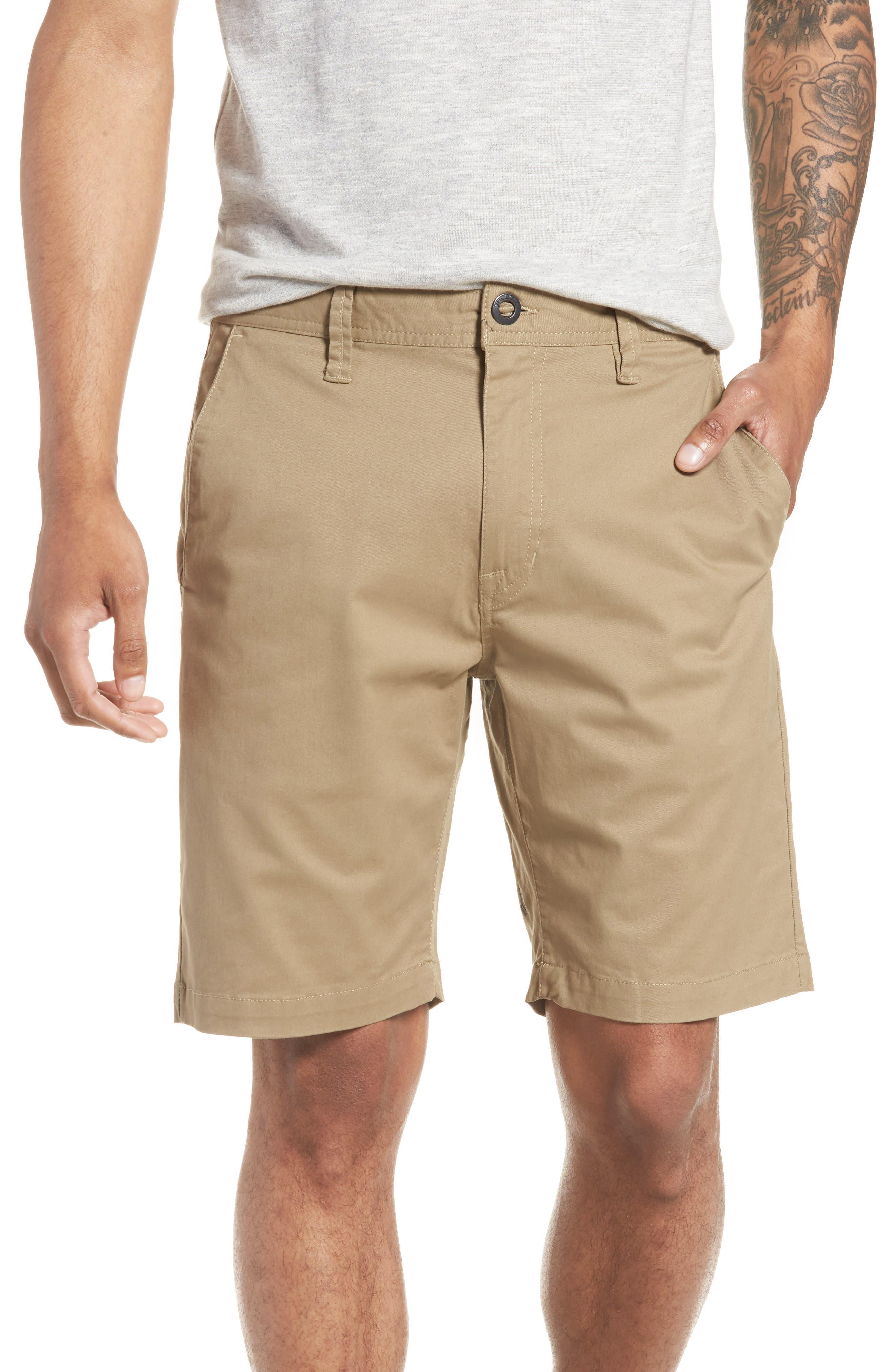 Lightweight Shorts,                             Main thumbnail 1, color,                             KHAKI