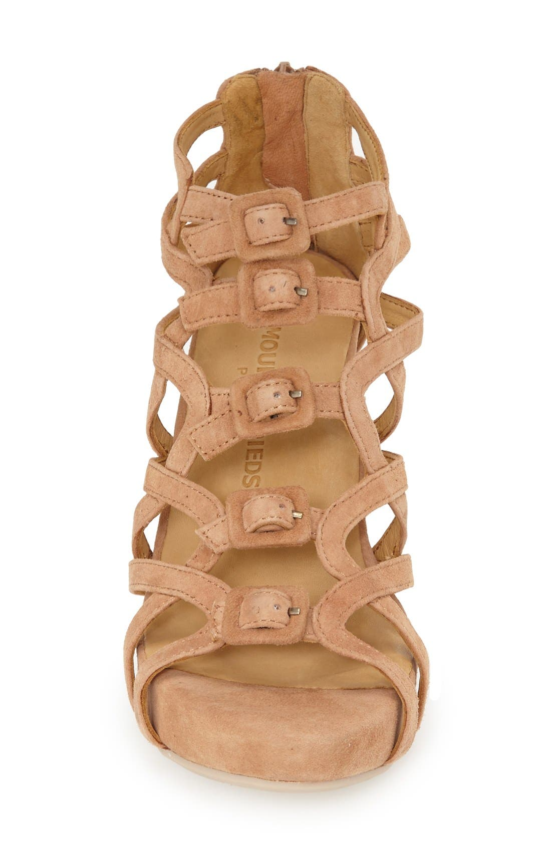 Ivanna' Gladiator Wedge Sandal,                             Alternate thumbnail 15, color,