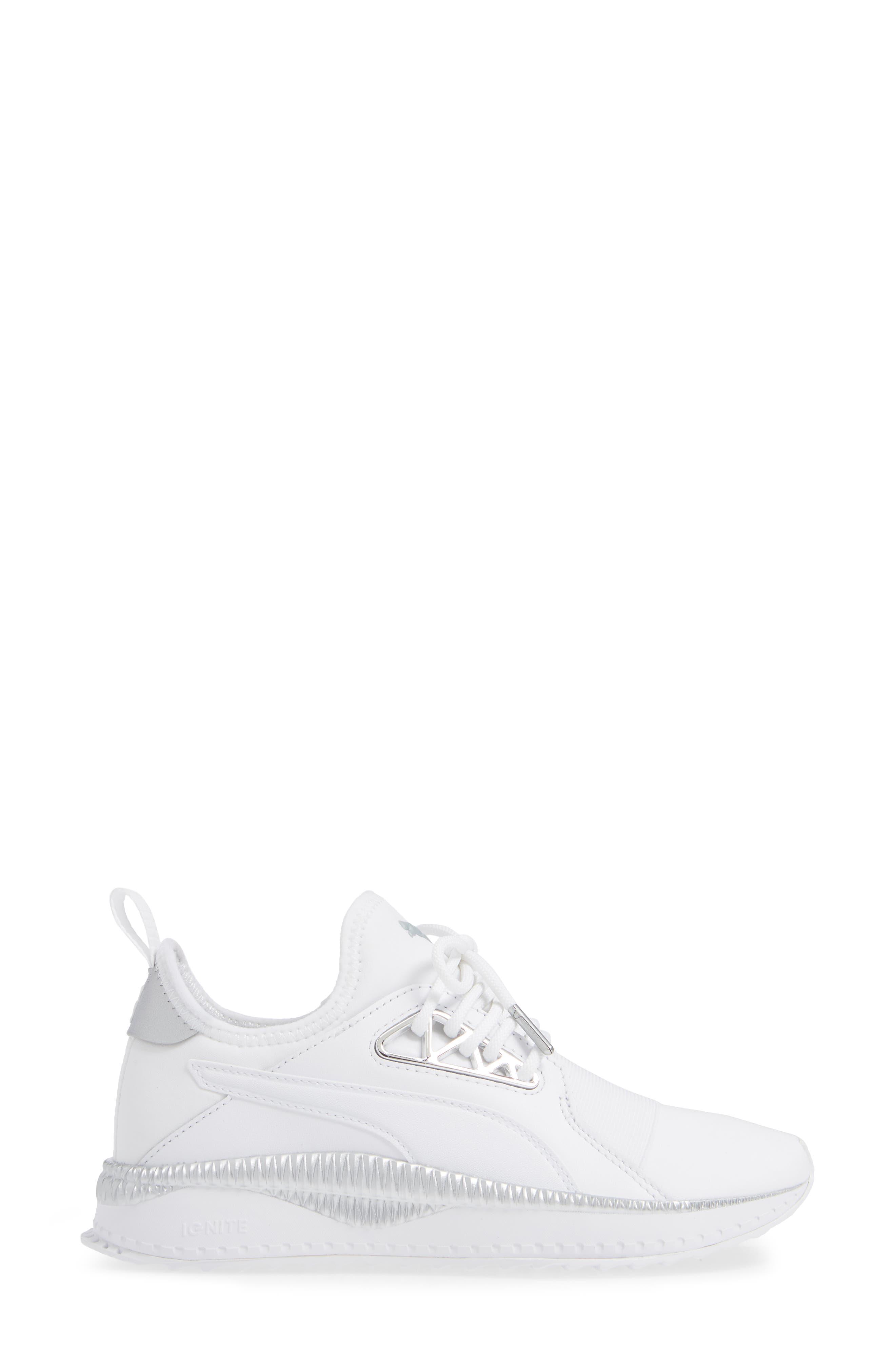 TSUGI Apex Jewel Sneaker,                             Alternate thumbnail 3, color,                             PUMA WHITE/ PUMA WHITE