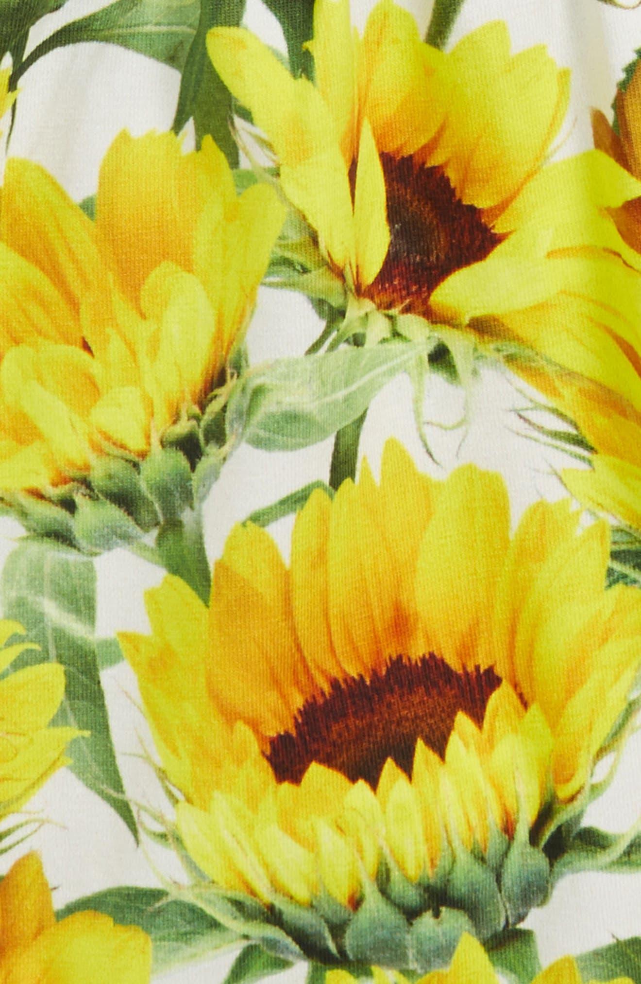 Amberly Sunflower Romper,                             Alternate thumbnail 2, color,