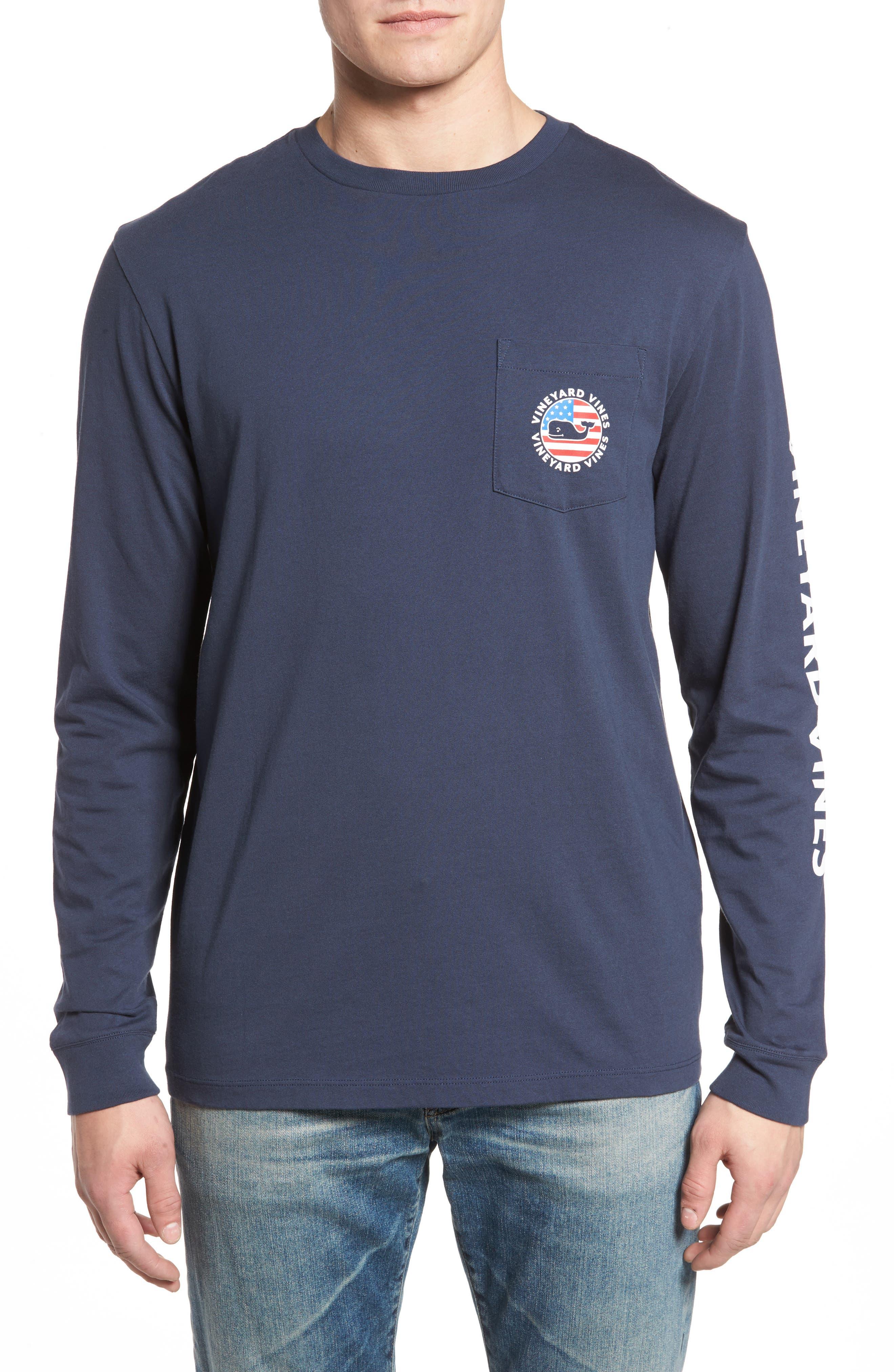 Patriot Dot Graphic T-Shirt,                             Main thumbnail 1, color,